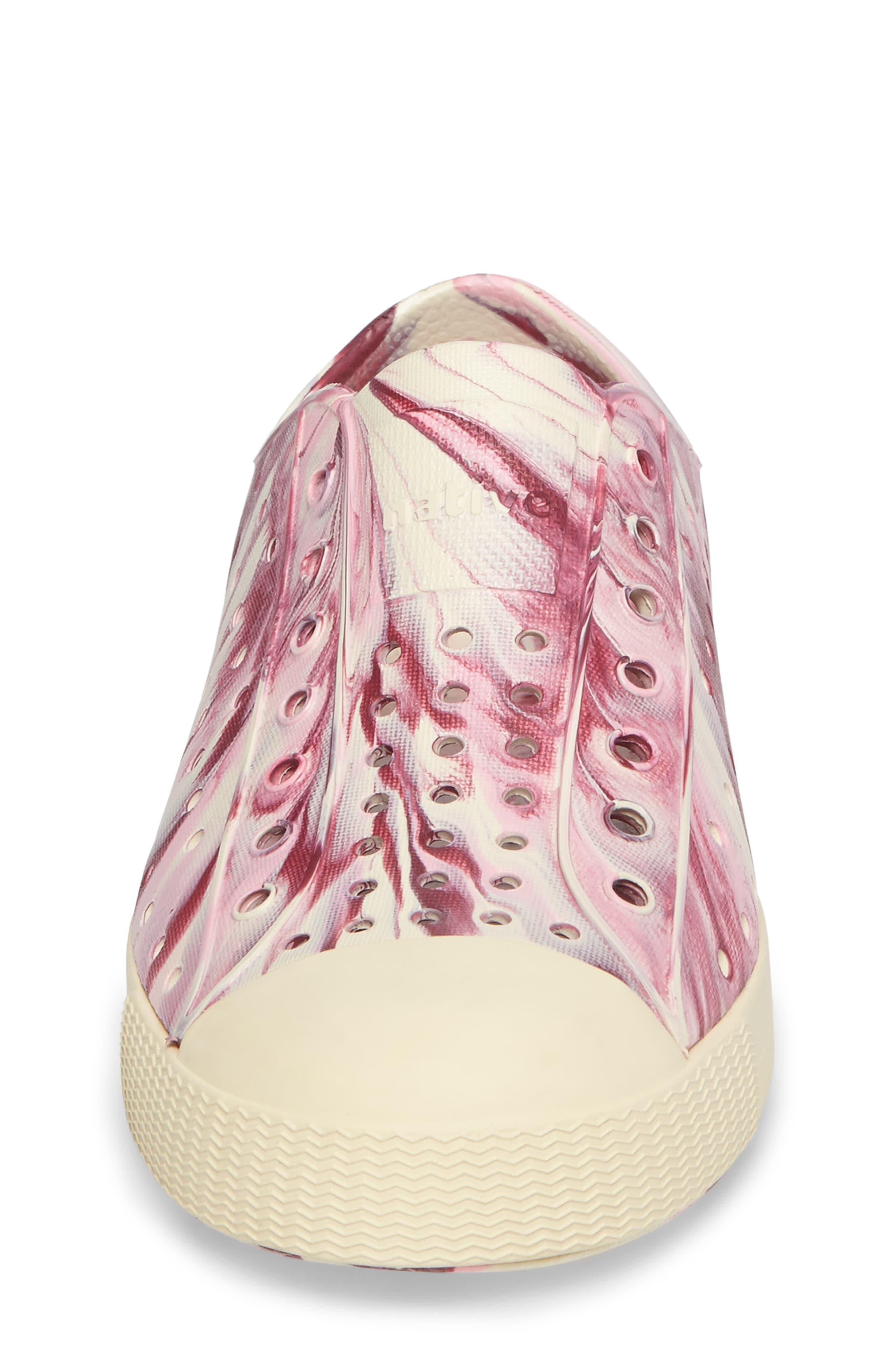 Alternate Image 4  - Native Shoes Jefferson - Marbled Perforated Slip-On (Walker, Toddler & Little Kid)