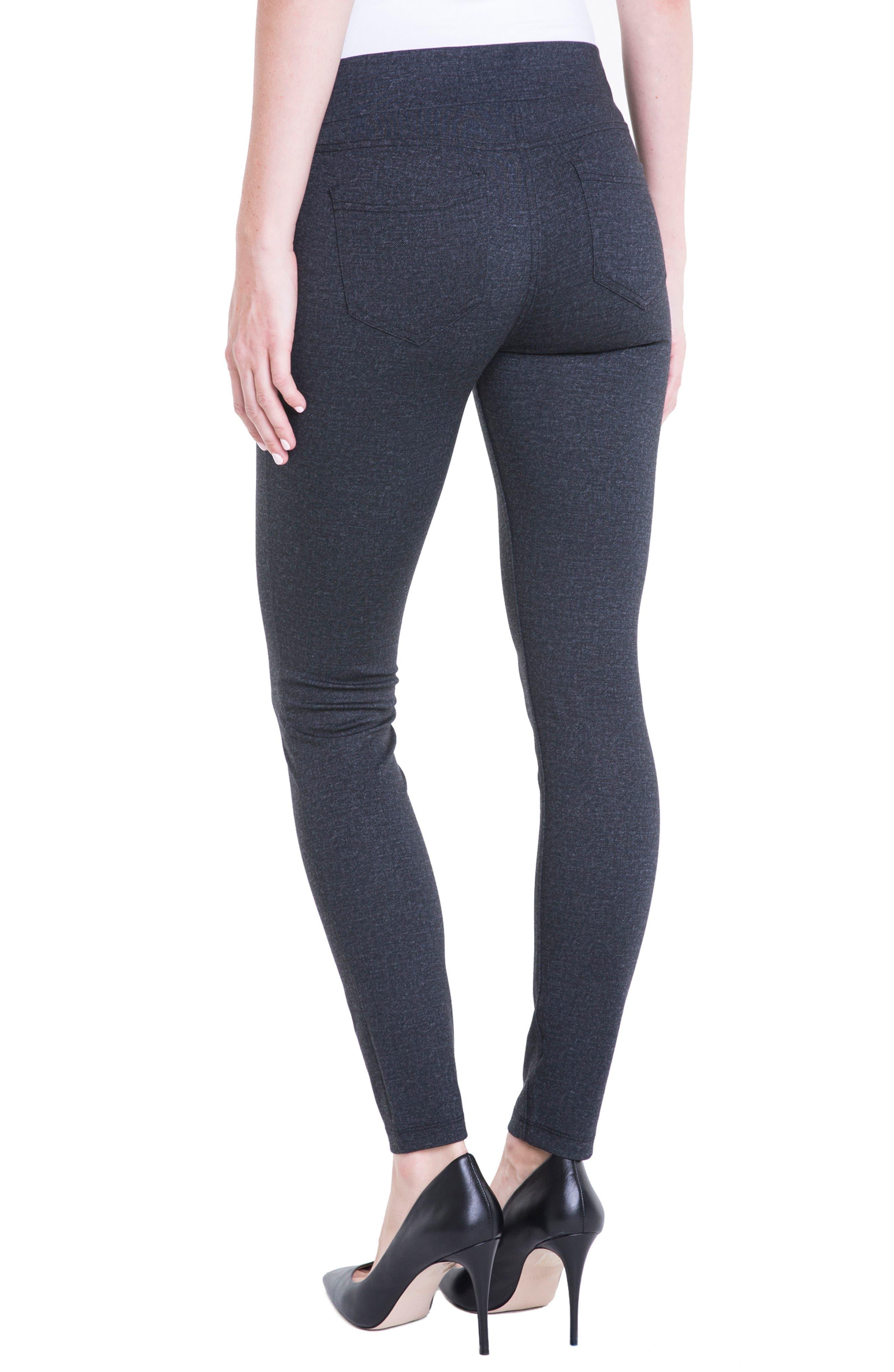 Alternate Image 2  - Liverpool Jeans Company Sienna Denim Knit Leggings