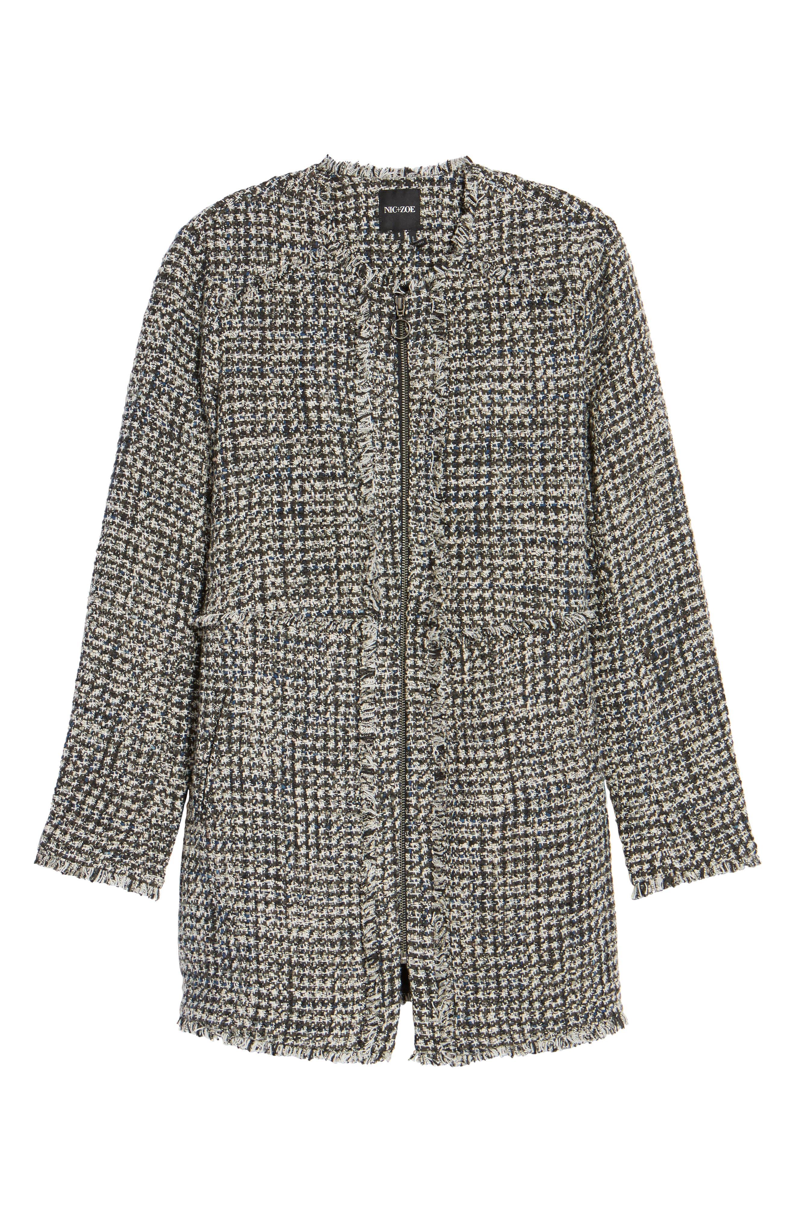 Alternate Image 6  - NIC + Zoe Speckled Tweed Jacket