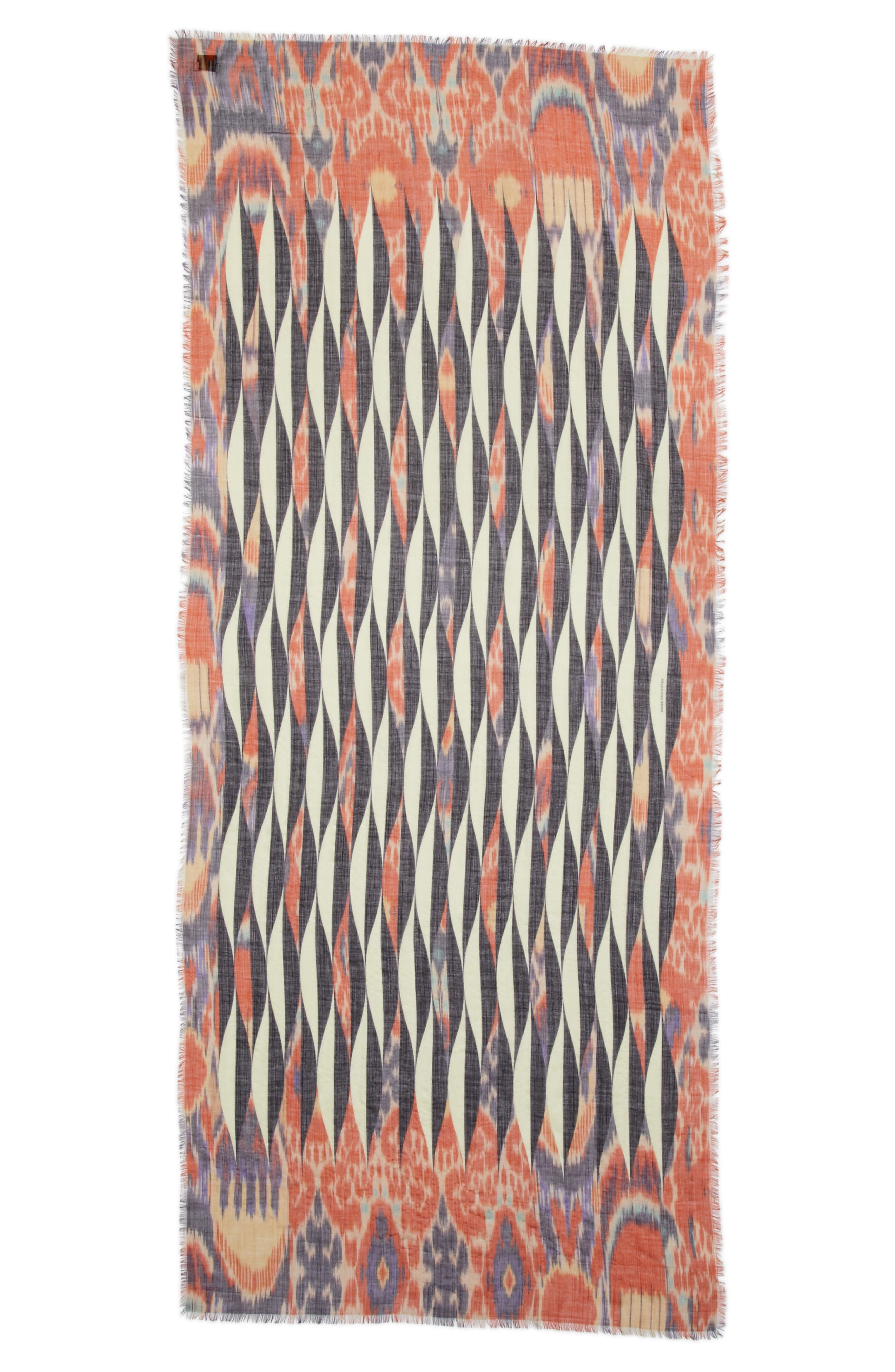 Alternate Image 1 Selected - Dries Van Noten Ikat Print Cashmere Scarf