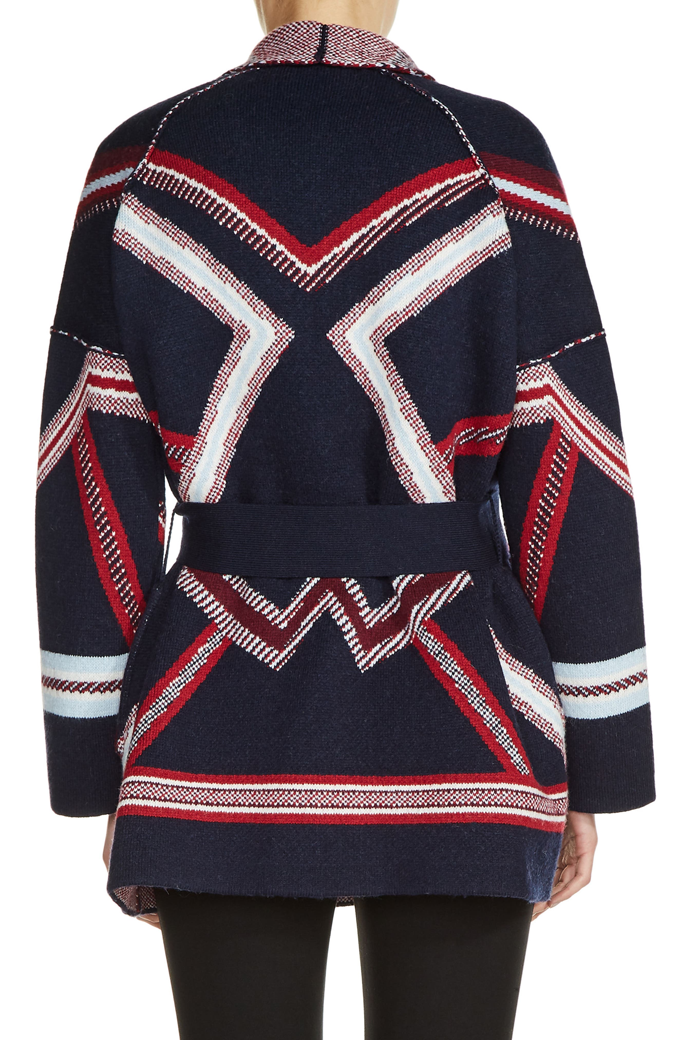 Alternate Image 2  - maje Belted Kimono Cardigan