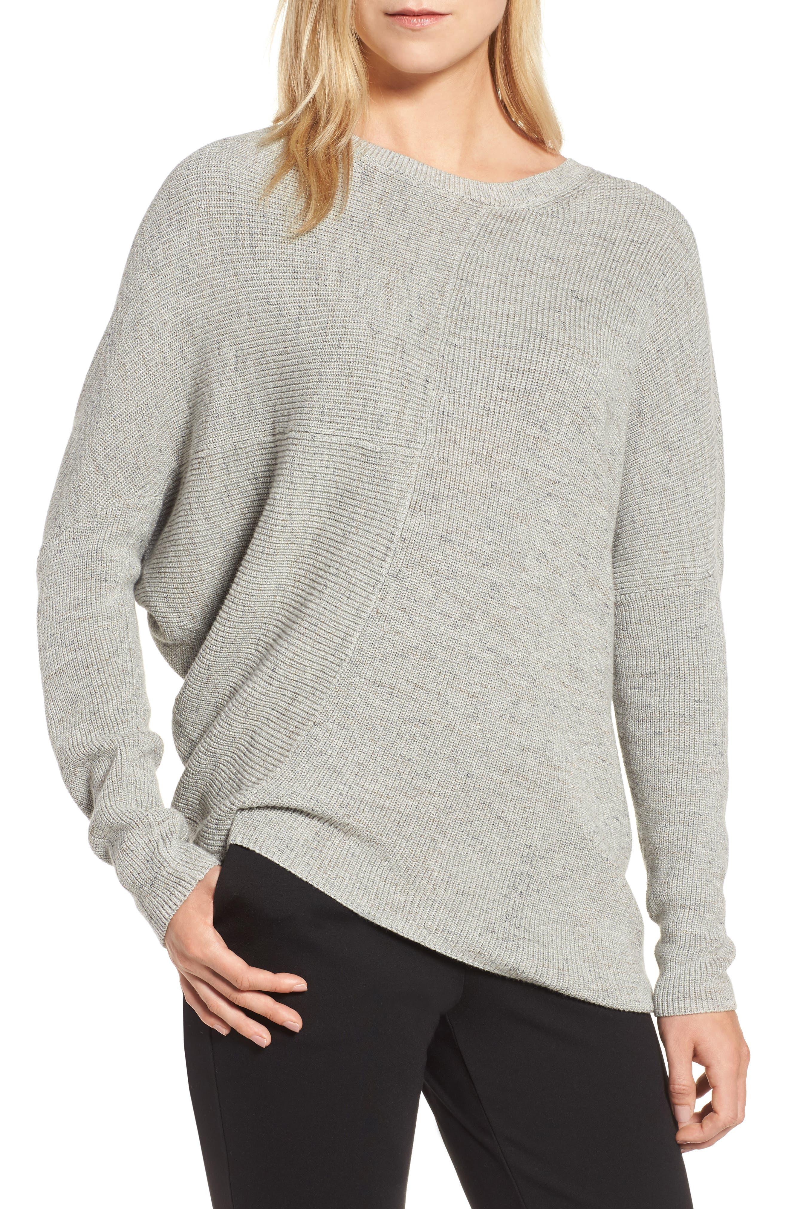 NIC+ZOE Energy Asymmetrical Sweater