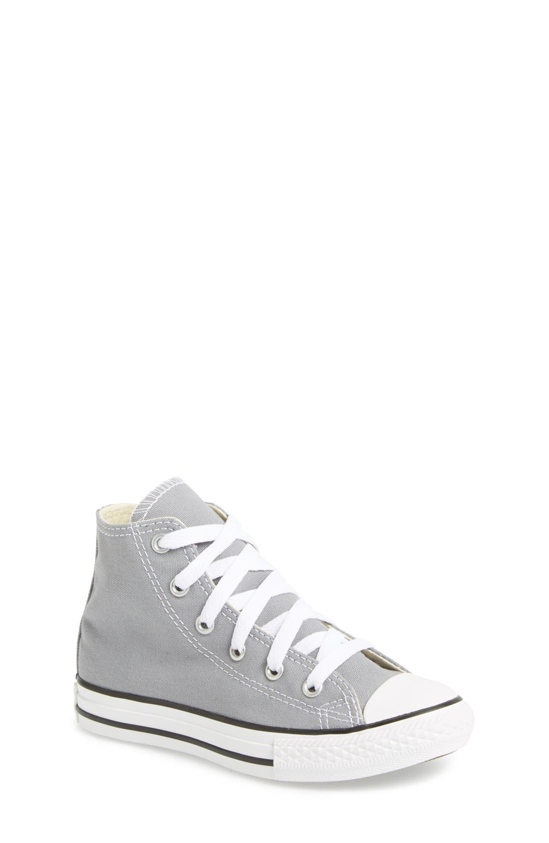 Alternate Image 1 Selected - Converse Chuck Taylor® All Star® High Top Sneaker (Toddler & Little Kid)