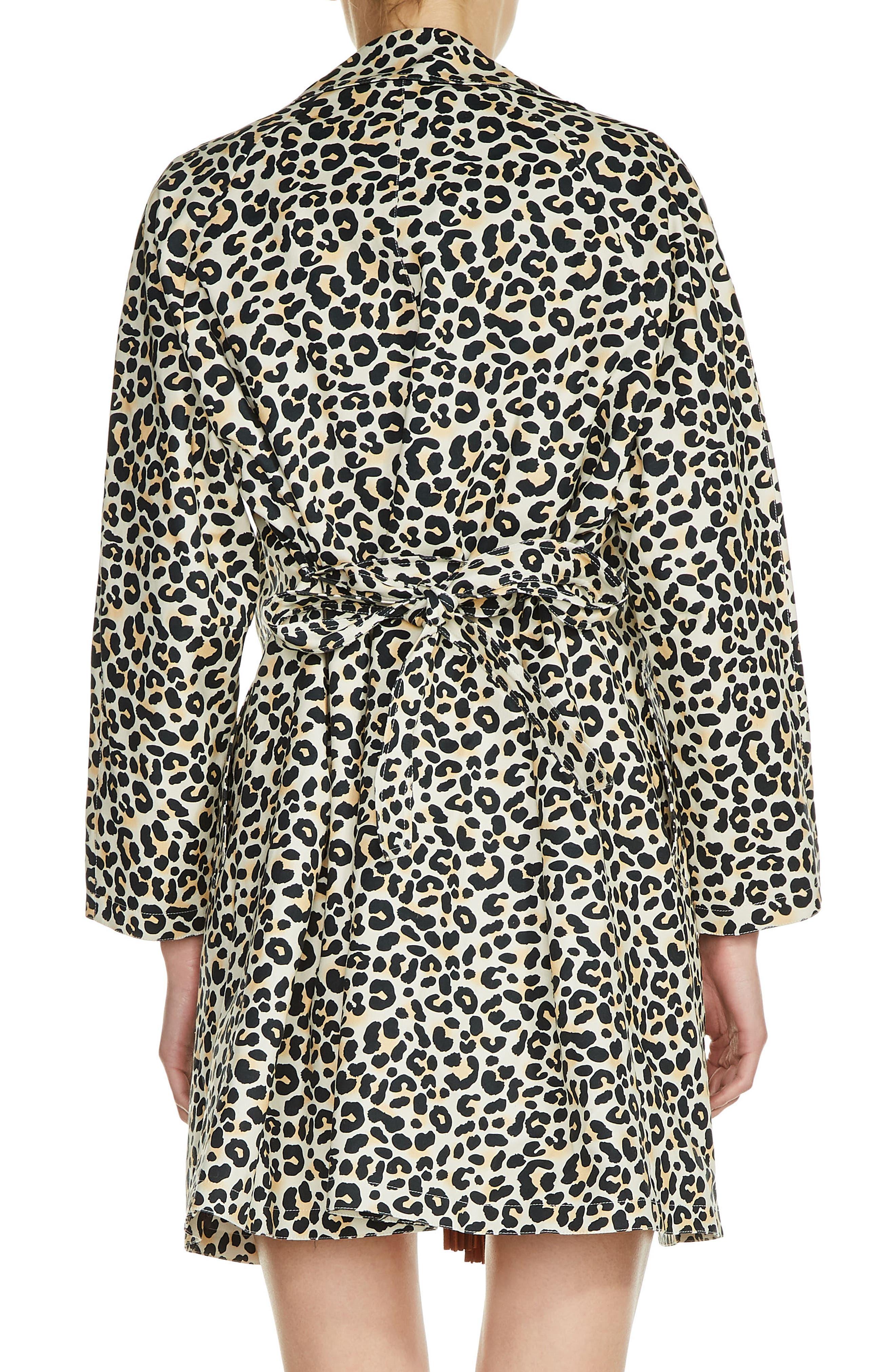 Alternate Image 2  - maje Leopard Print Coat