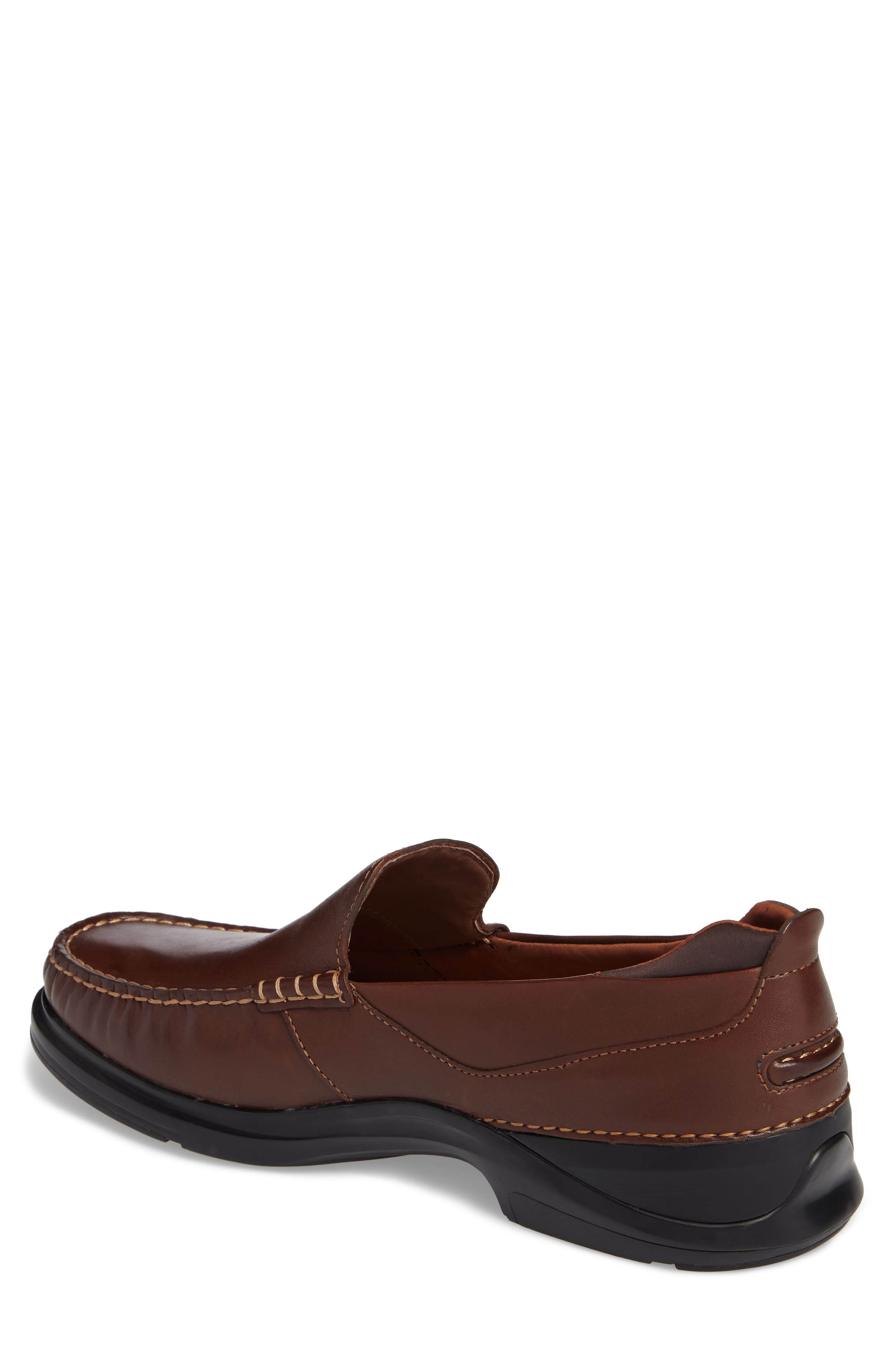 Bancroft Loafer,                             Alternate thumbnail 2, color,                             Harvest Brown Leather
