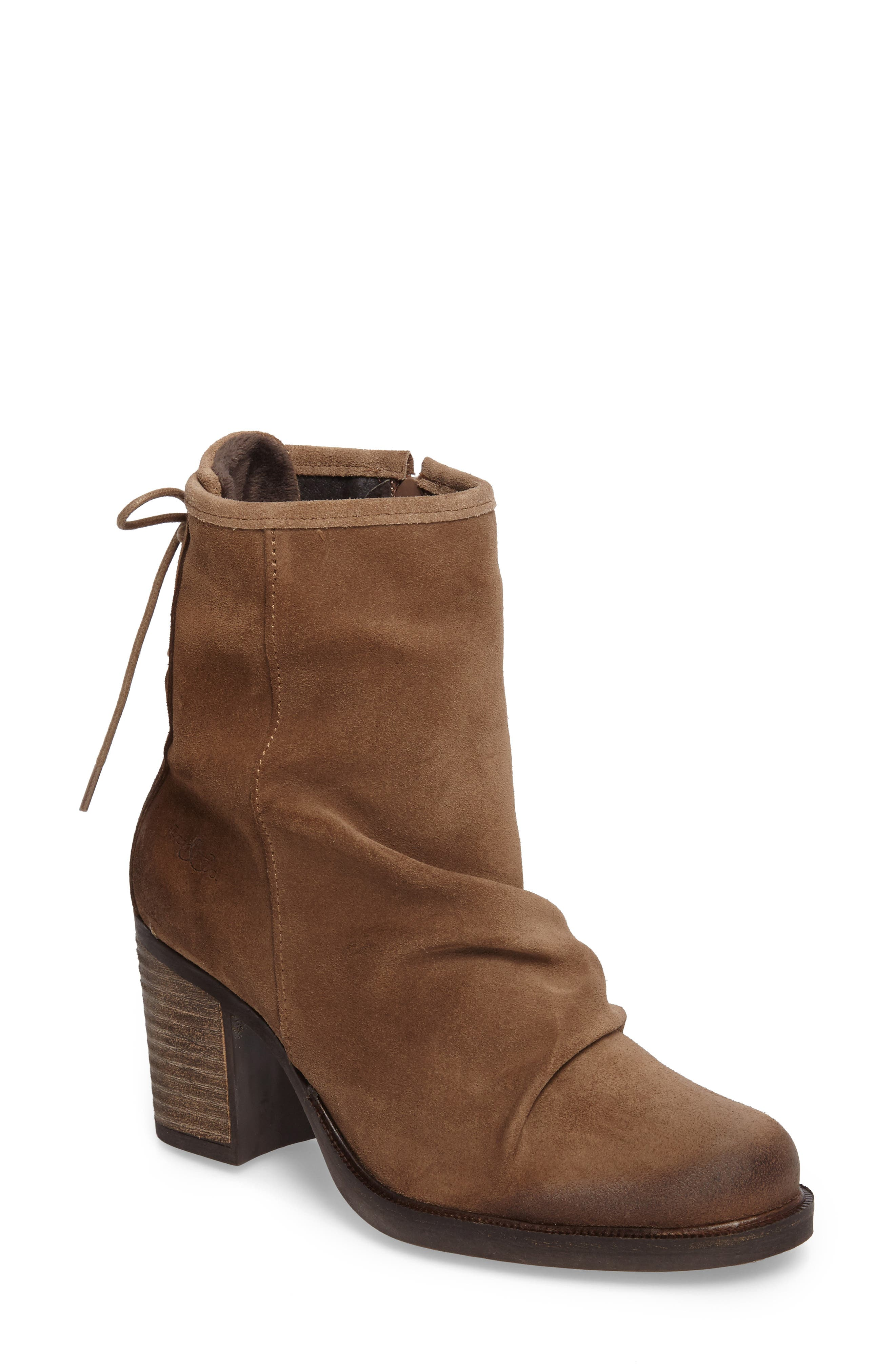 BOS. & CO. Barlow Waterproof Suede Bootie