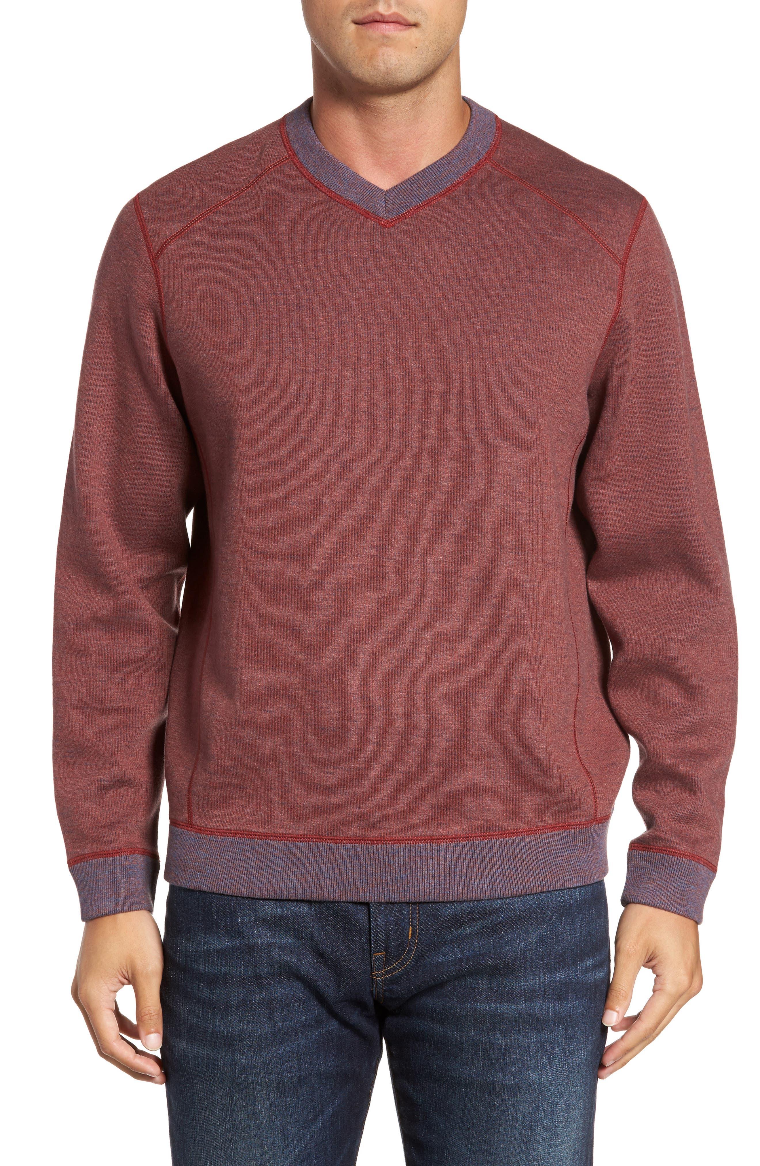 Main Image - Tommy Bahama Flipside Pro Reversible Sweatshirt