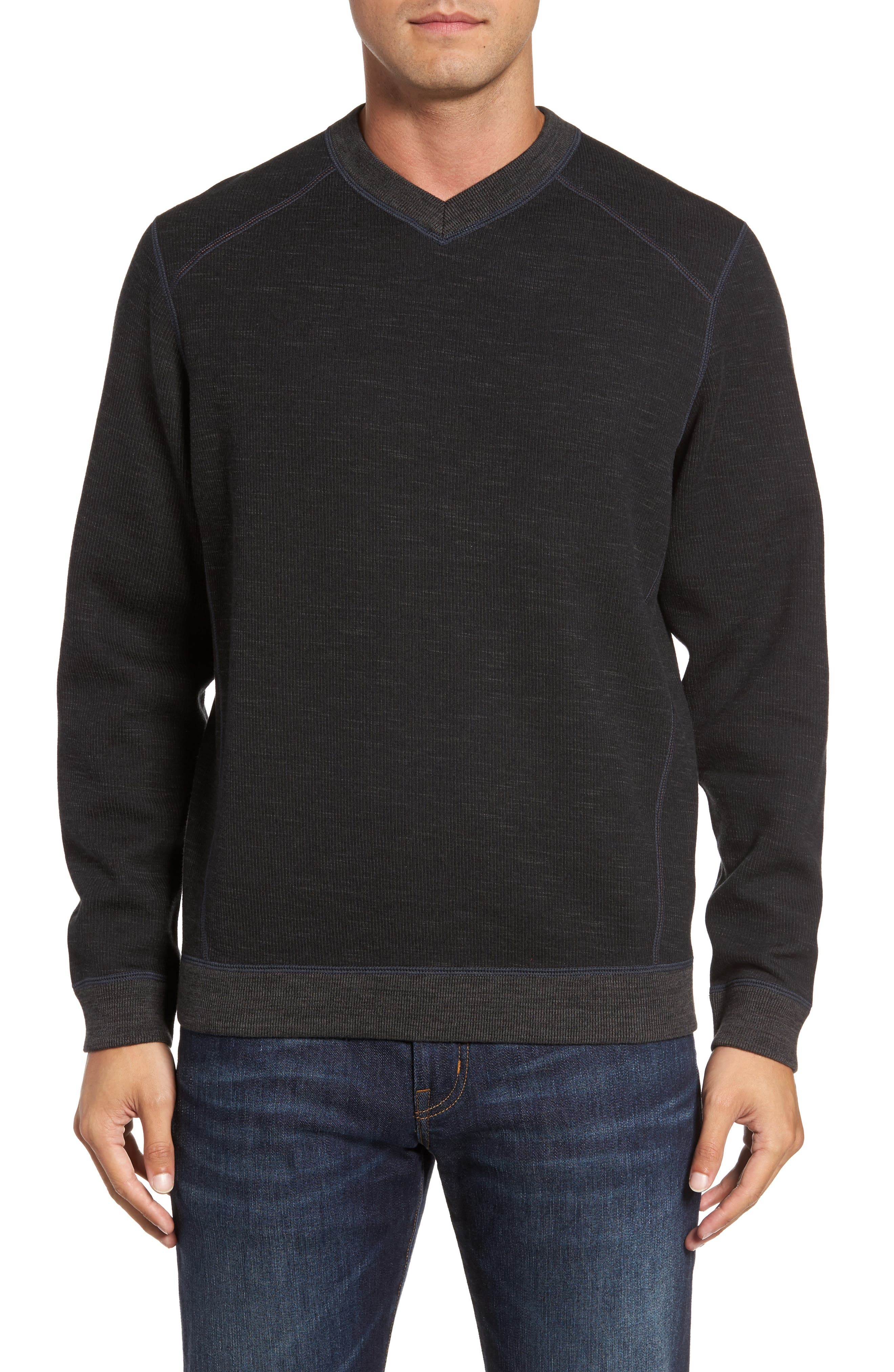 Flipside Pro Reversible Sweatshirt,                         Main,                         color, Black
