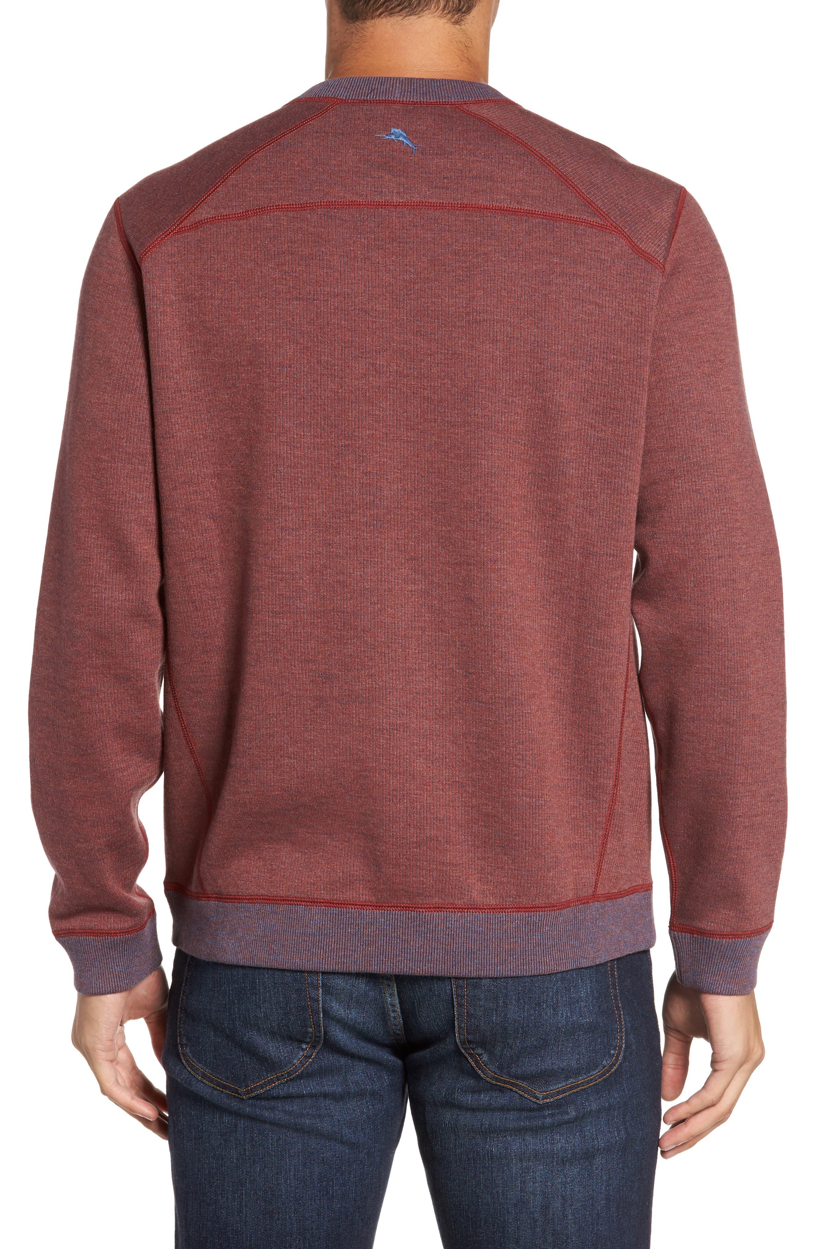 Flipside Pro Reversible Sweatshirt,                             Alternate thumbnail 2, color,                             Pompeya Heather