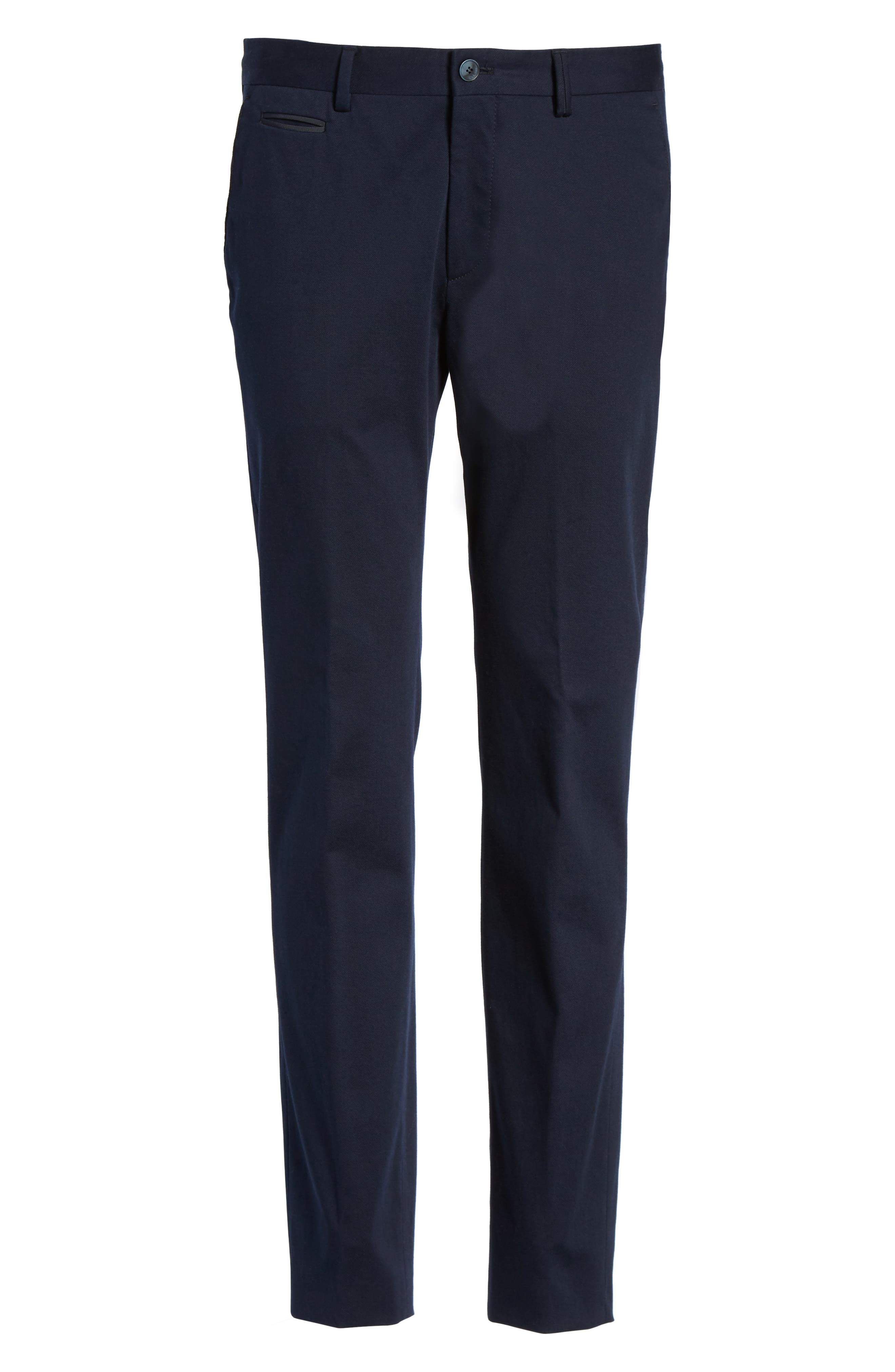 Batho-W Regular Fit Trousers,                             Alternate thumbnail 6, color,                             Navy