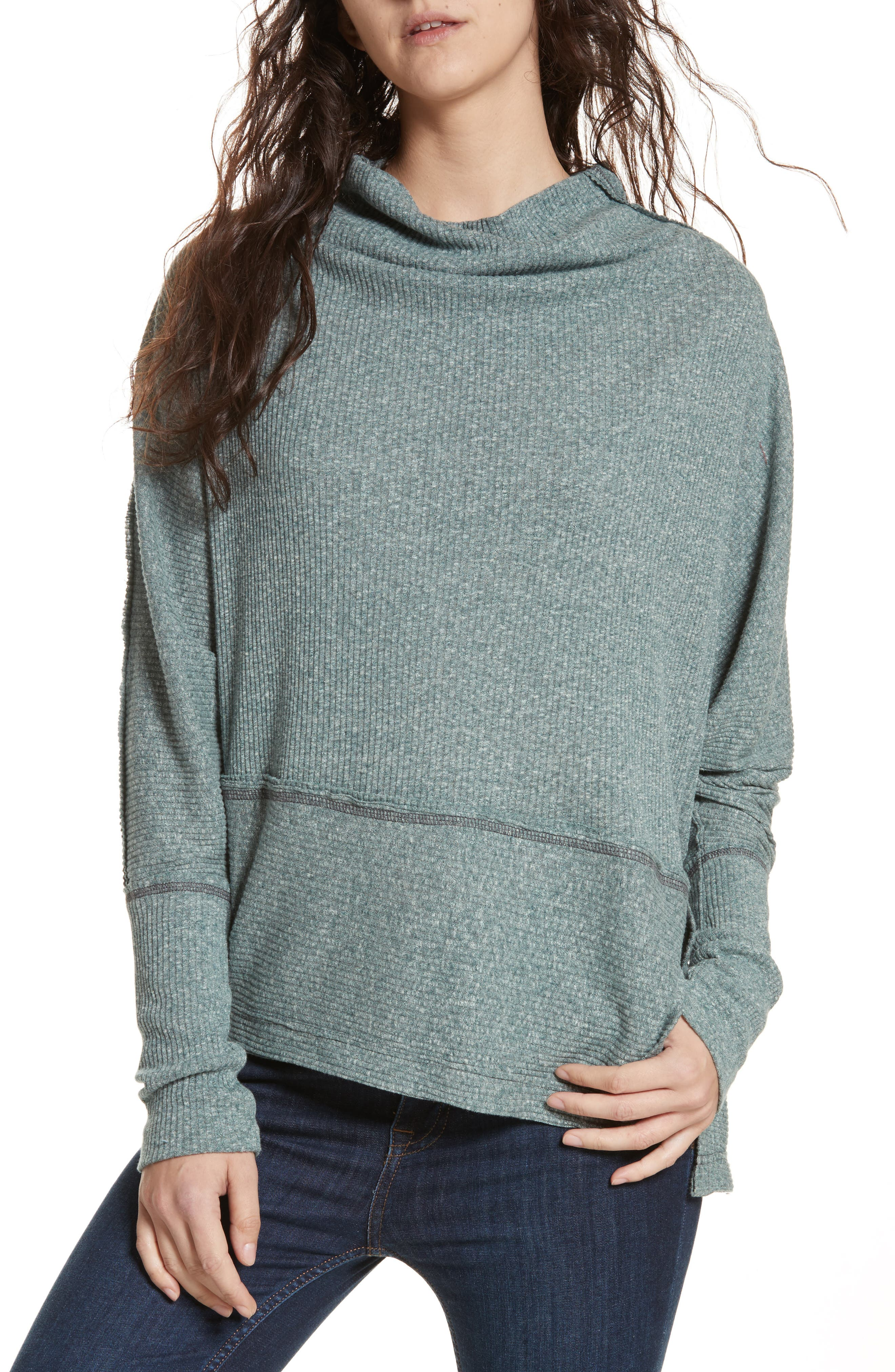 Main Image - Free People Londontown Thermal Sweater