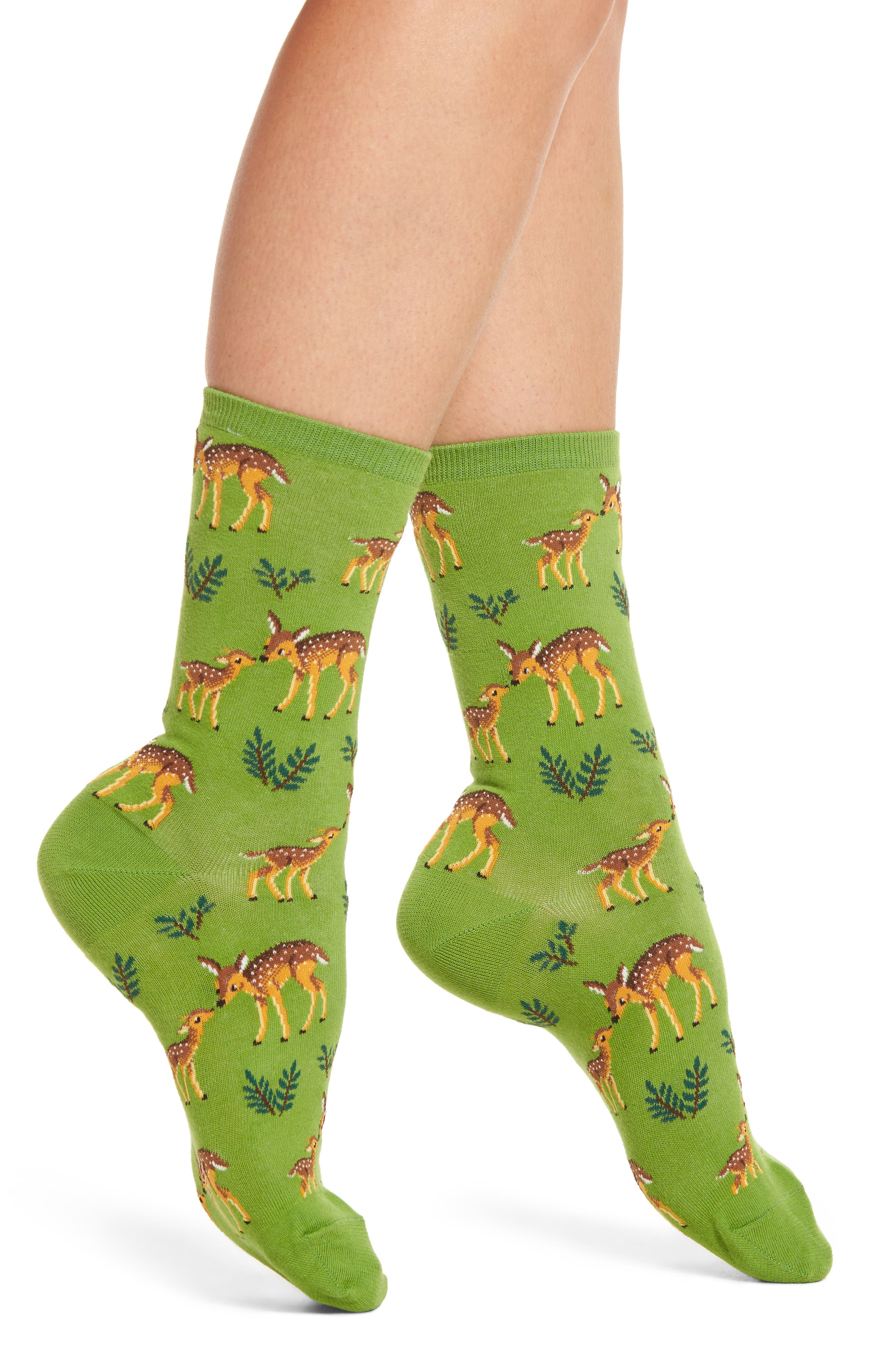 Hot Sox Mother Deer Socks (3 for $15)