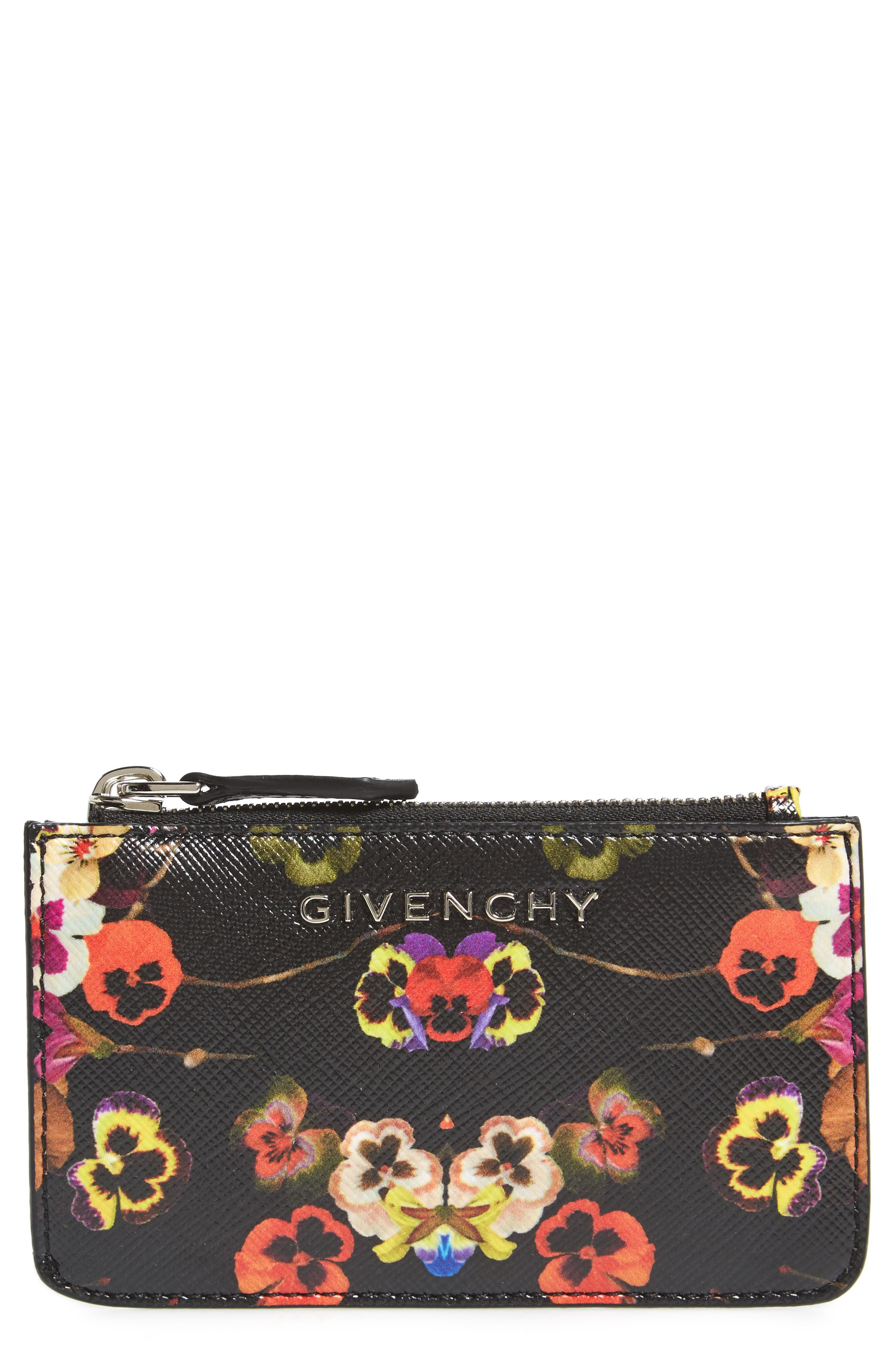 Givenchy Night Pansy Key Pouch