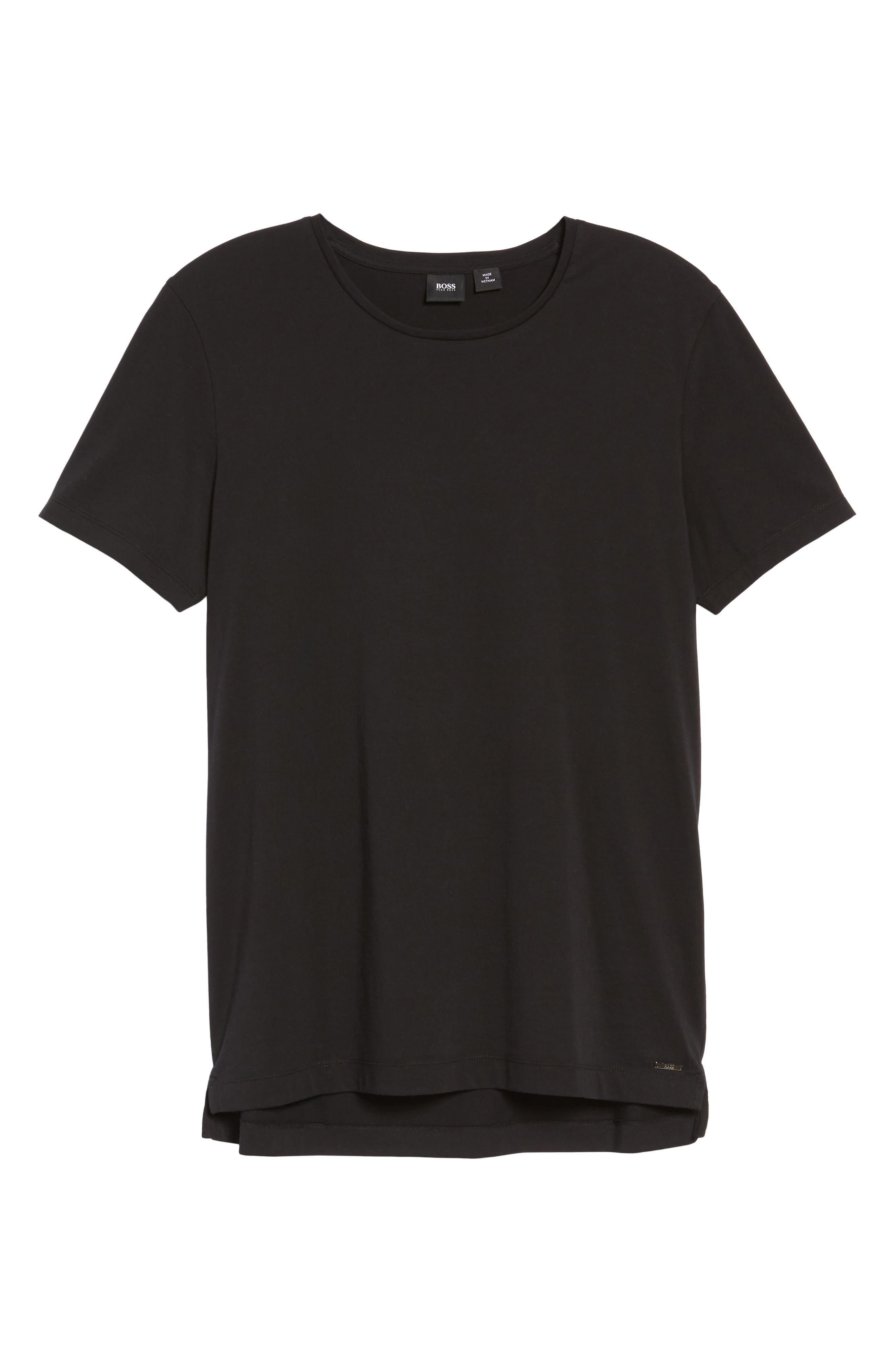 Tessler Crewneck T-Shirt,                             Alternate thumbnail 15, color,                             Black
