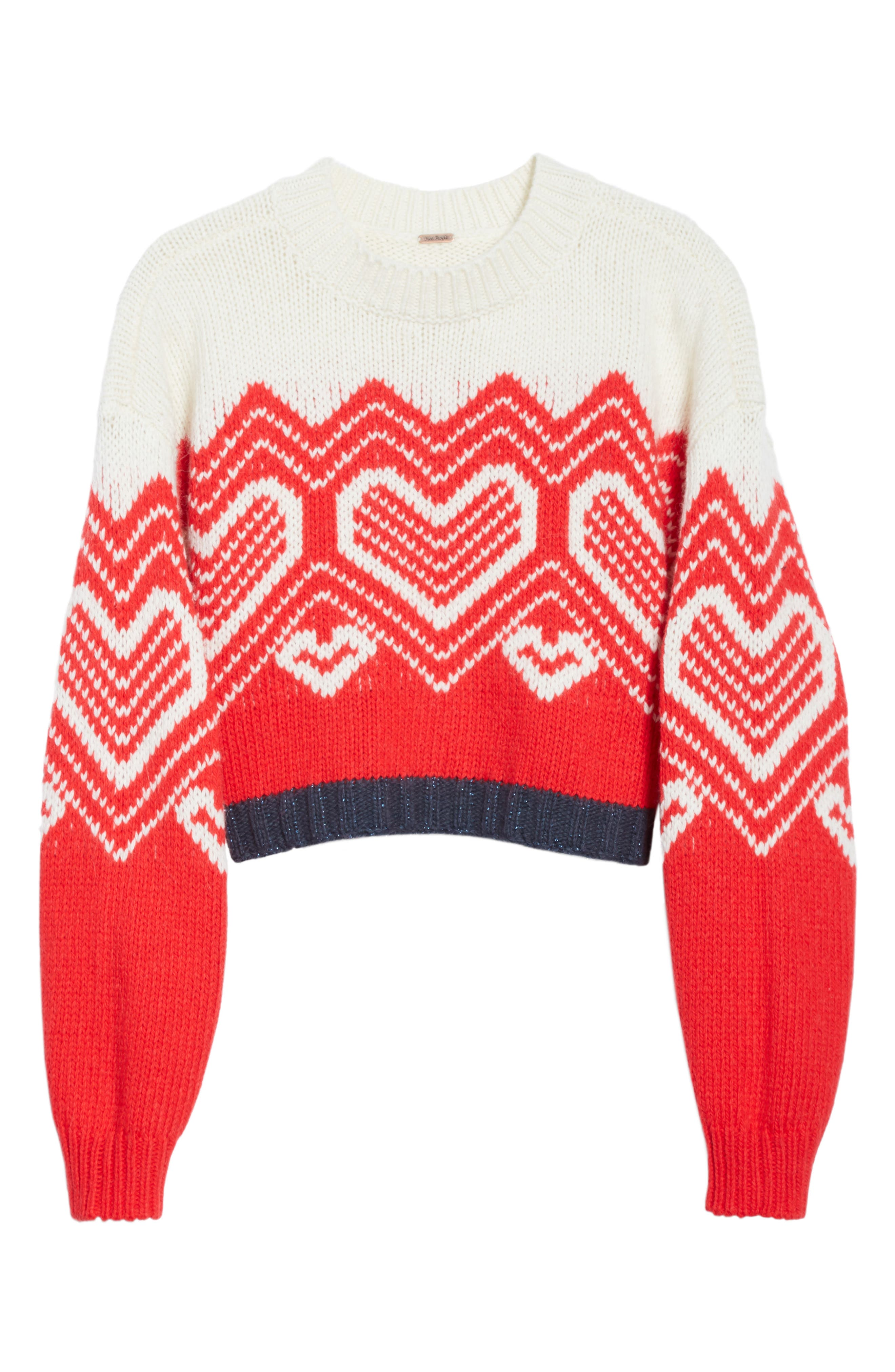 Alternate Image 6  - Free People I Heart You Sweater