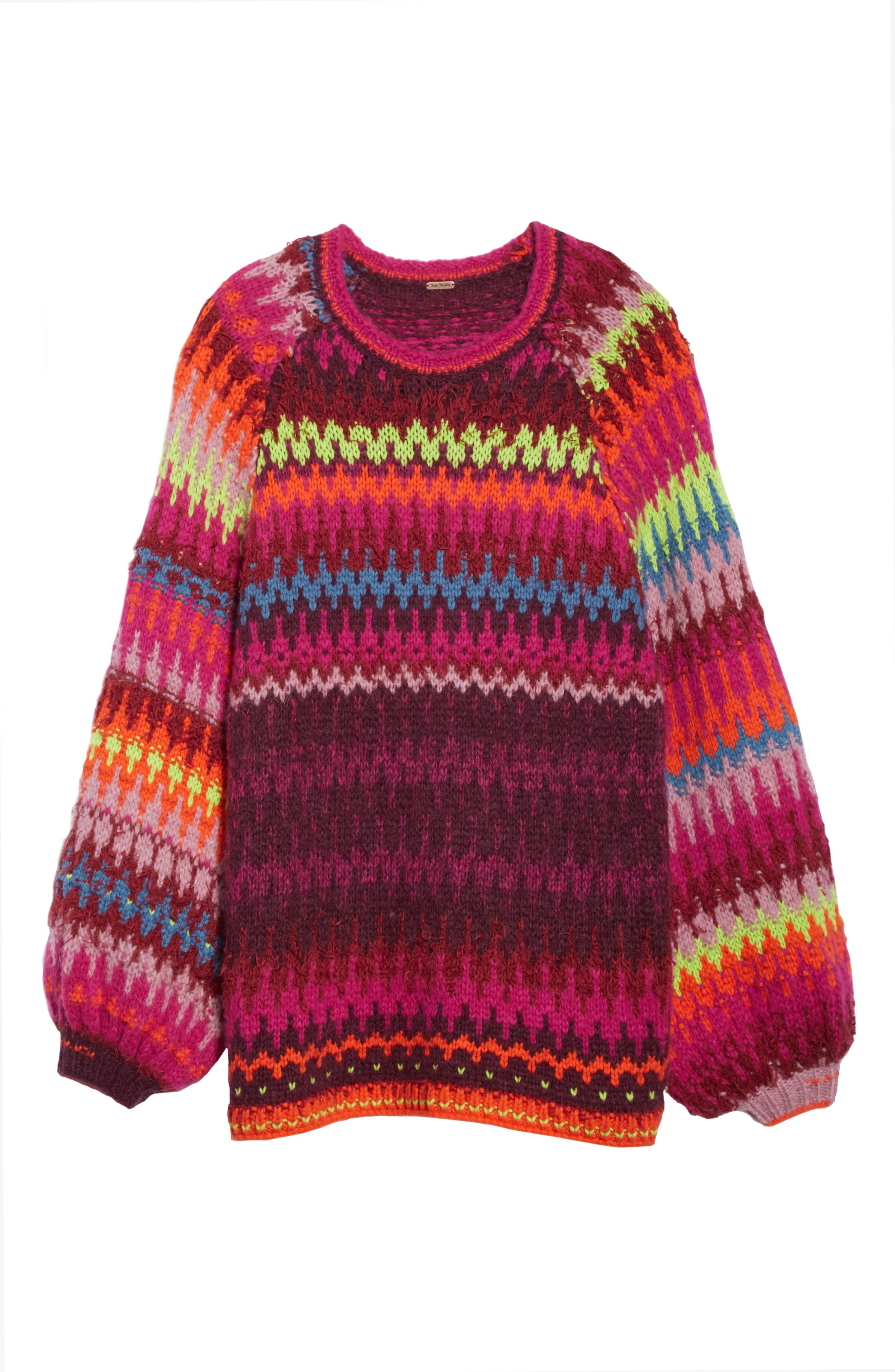 Castles in the Sky Sweater,                             Alternate thumbnail 6, color,                             Multi