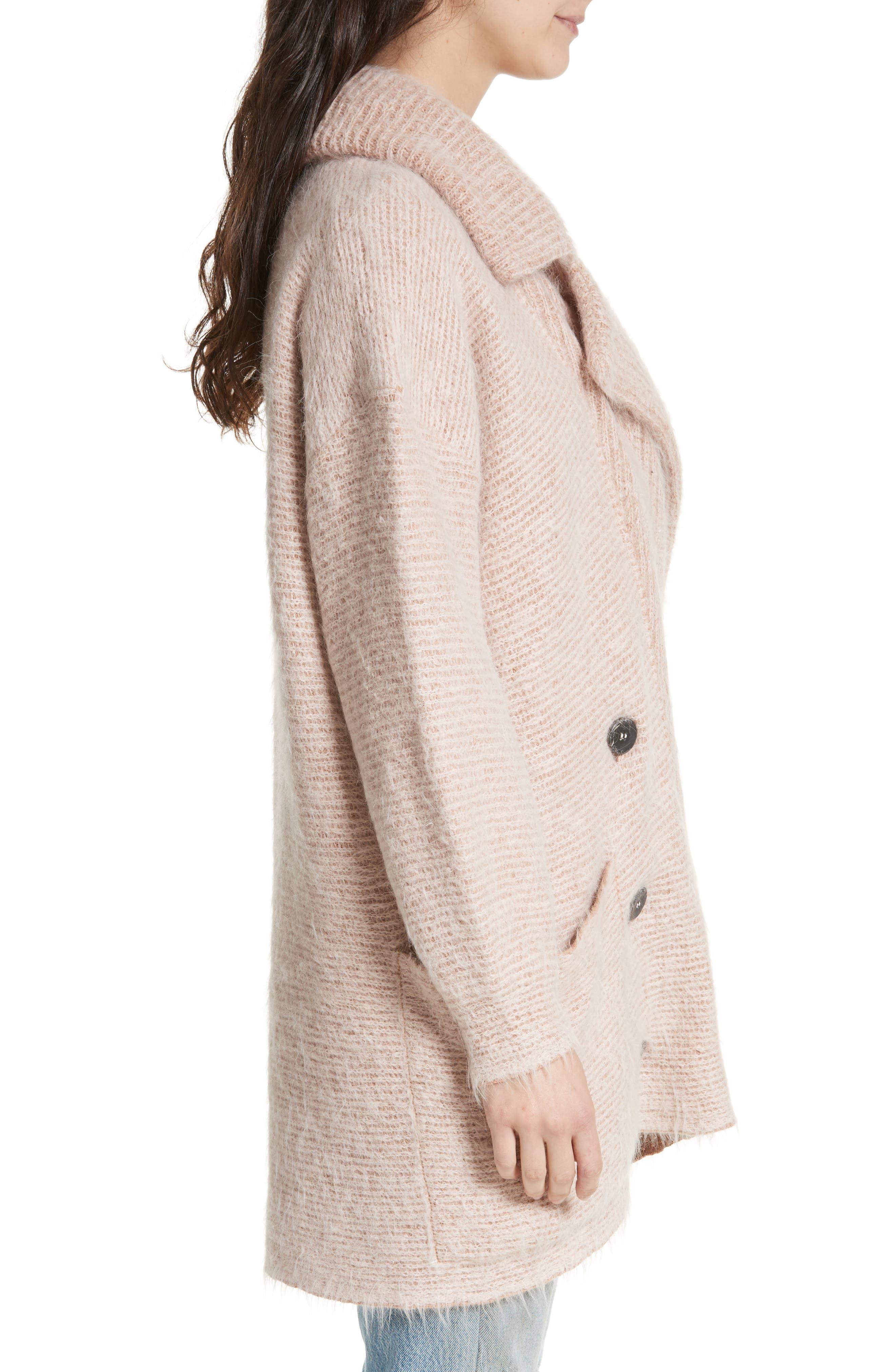 Alternate Image 3  - Free People Take Two Sweater Coat