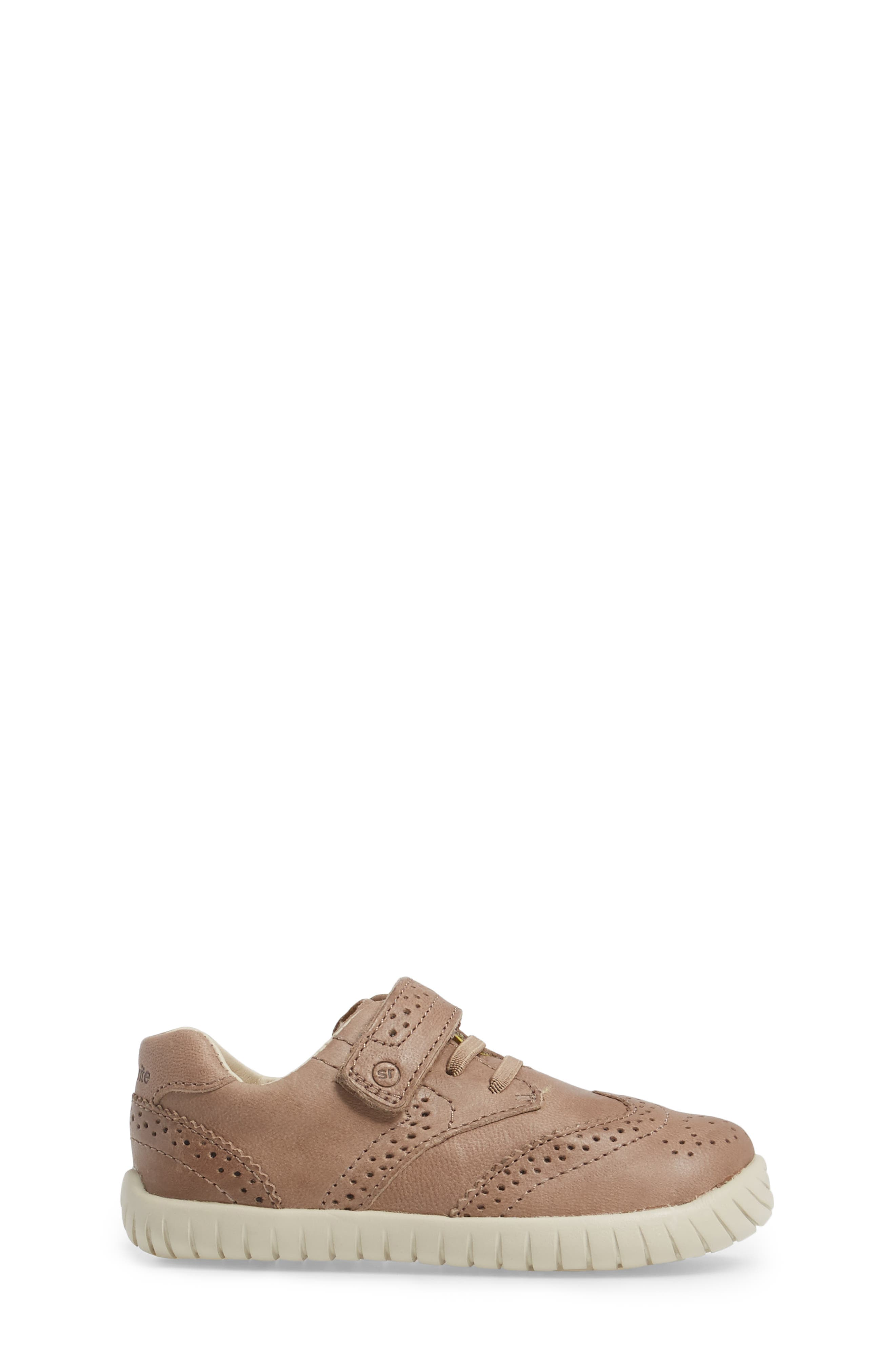 Addison Wingtip Sneaker,                             Alternate thumbnail 3, color,                             Brown