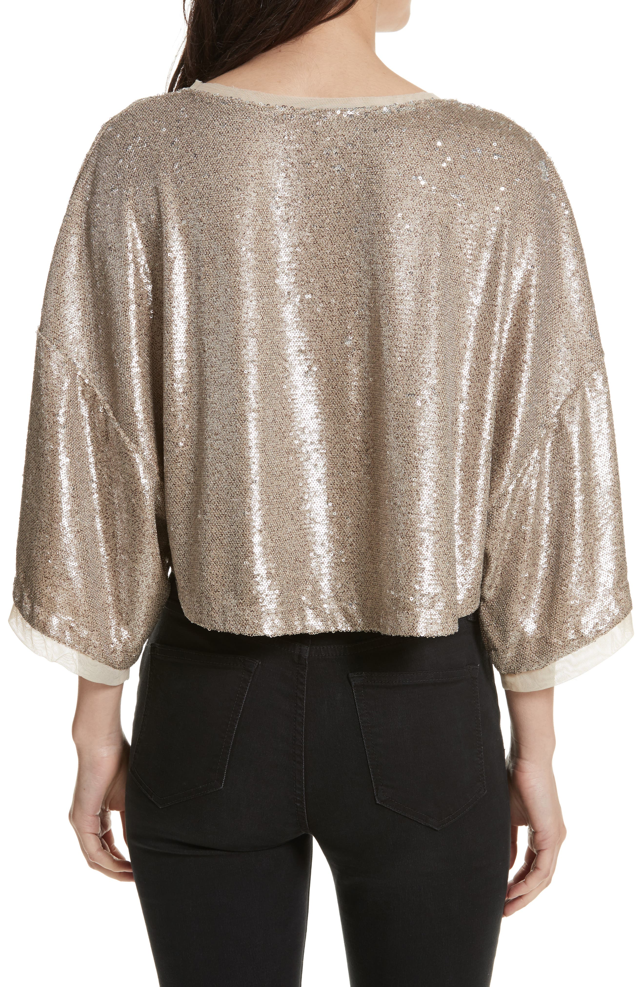 Alternate Image 2  - Free People Champagne Dreams Top