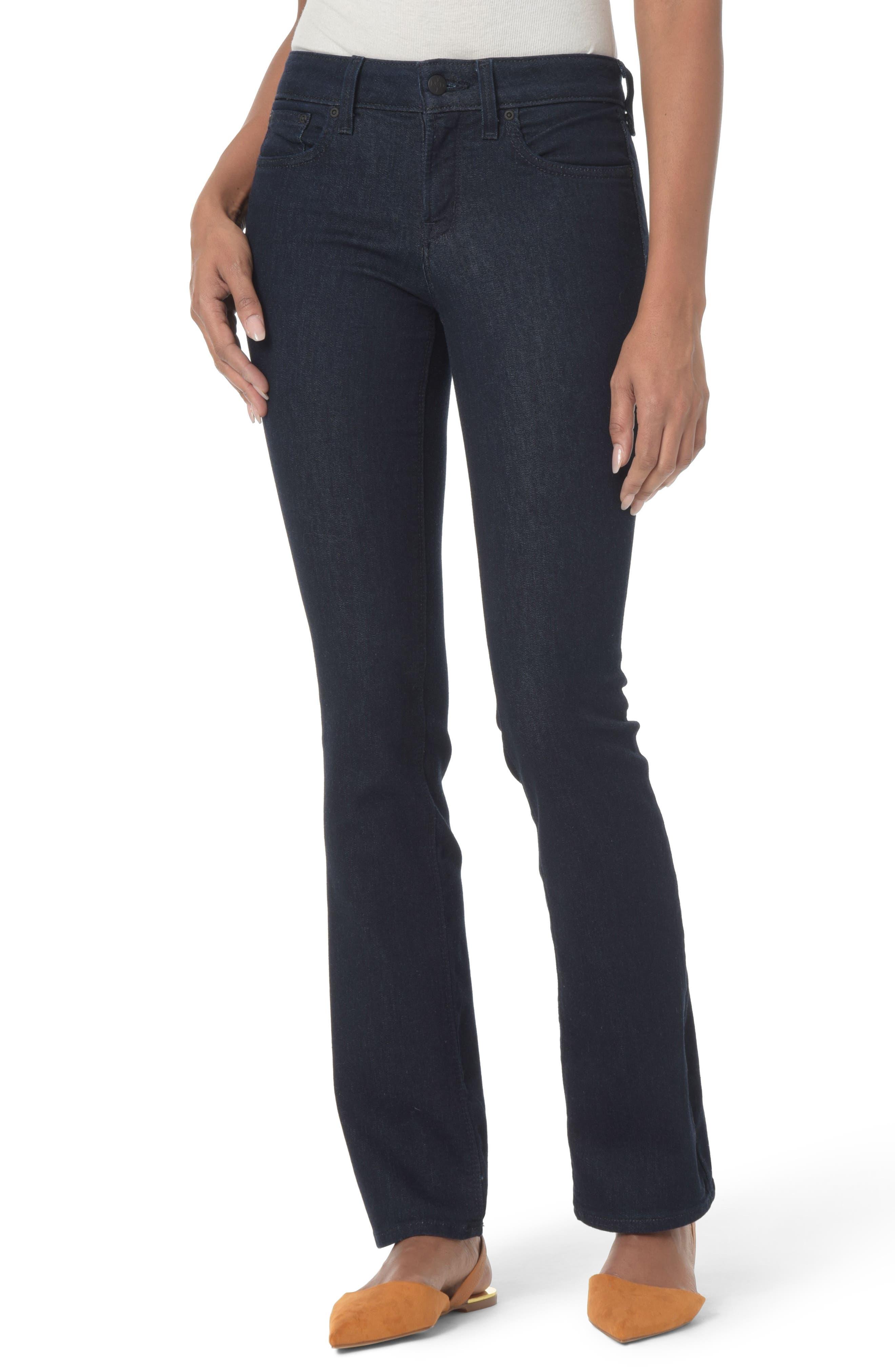 Billie Mini Bootcut Jeans,                         Main,                         color, Rinse