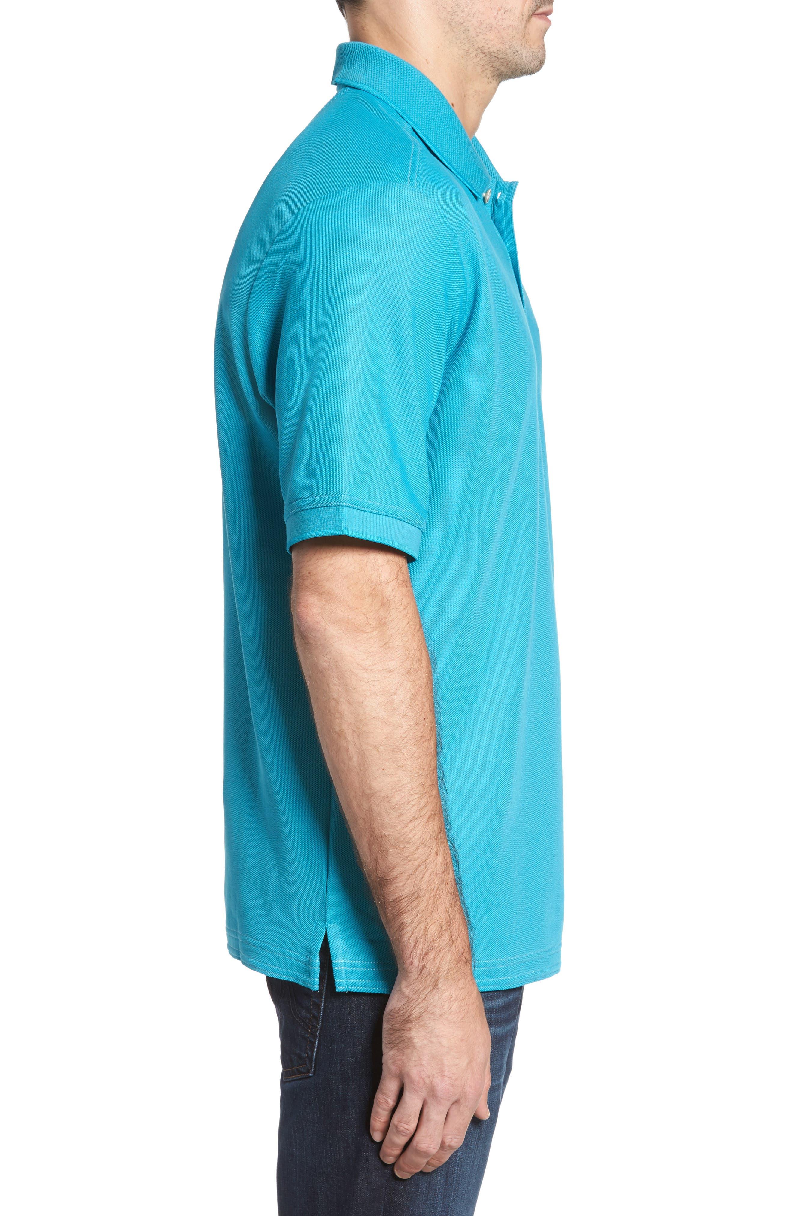 Alternate Image 3  - Tommy Bahama 'The Emfielder' Piqué Polo (Big & Tall)
