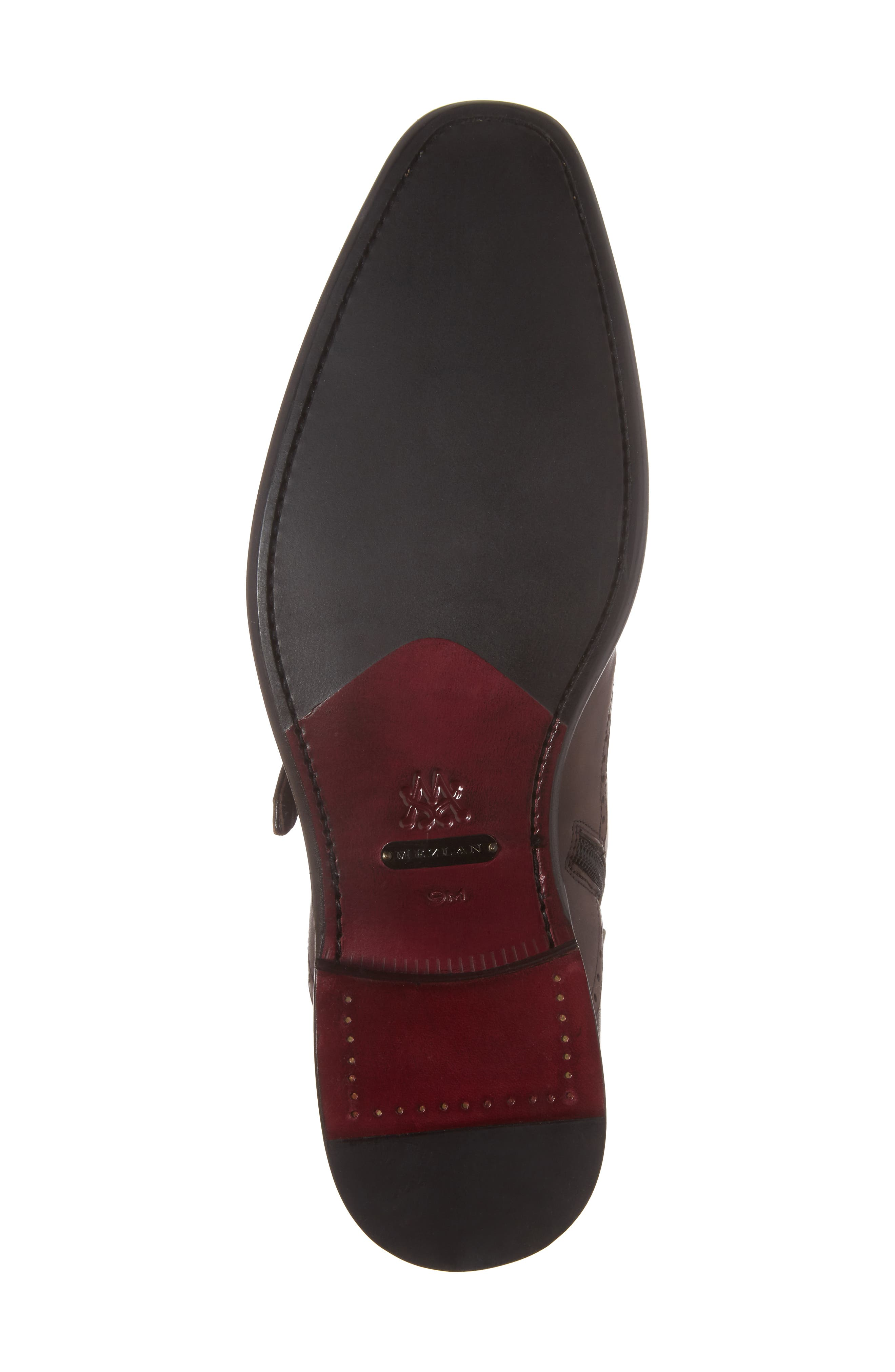 Taberna Double Monk Strap Boot,                             Alternate thumbnail 6, color,                             Cognac Leather