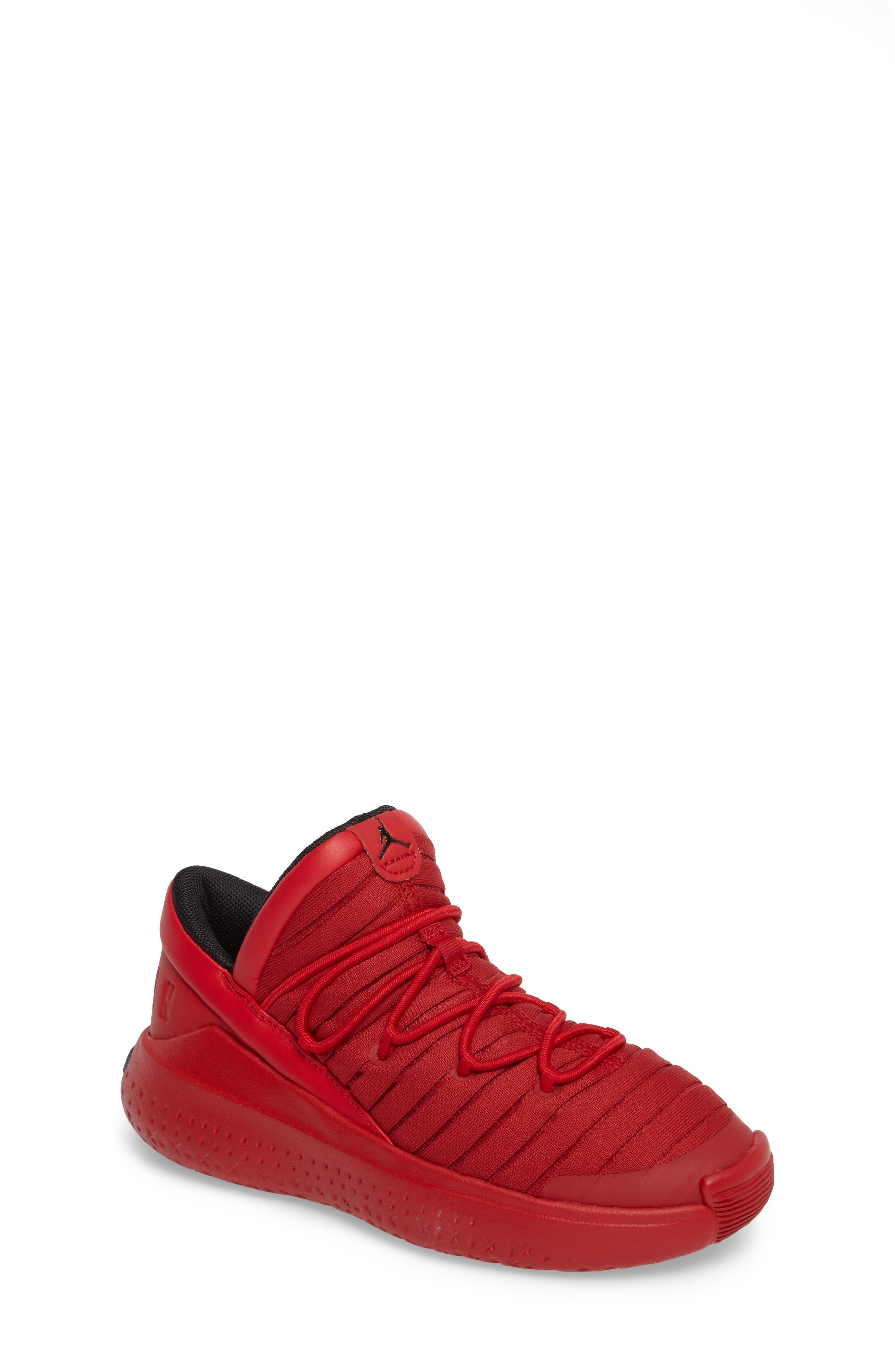 Flight Luxe Sneaker,                             Main thumbnail 1, color,                             Gym Red/ Black