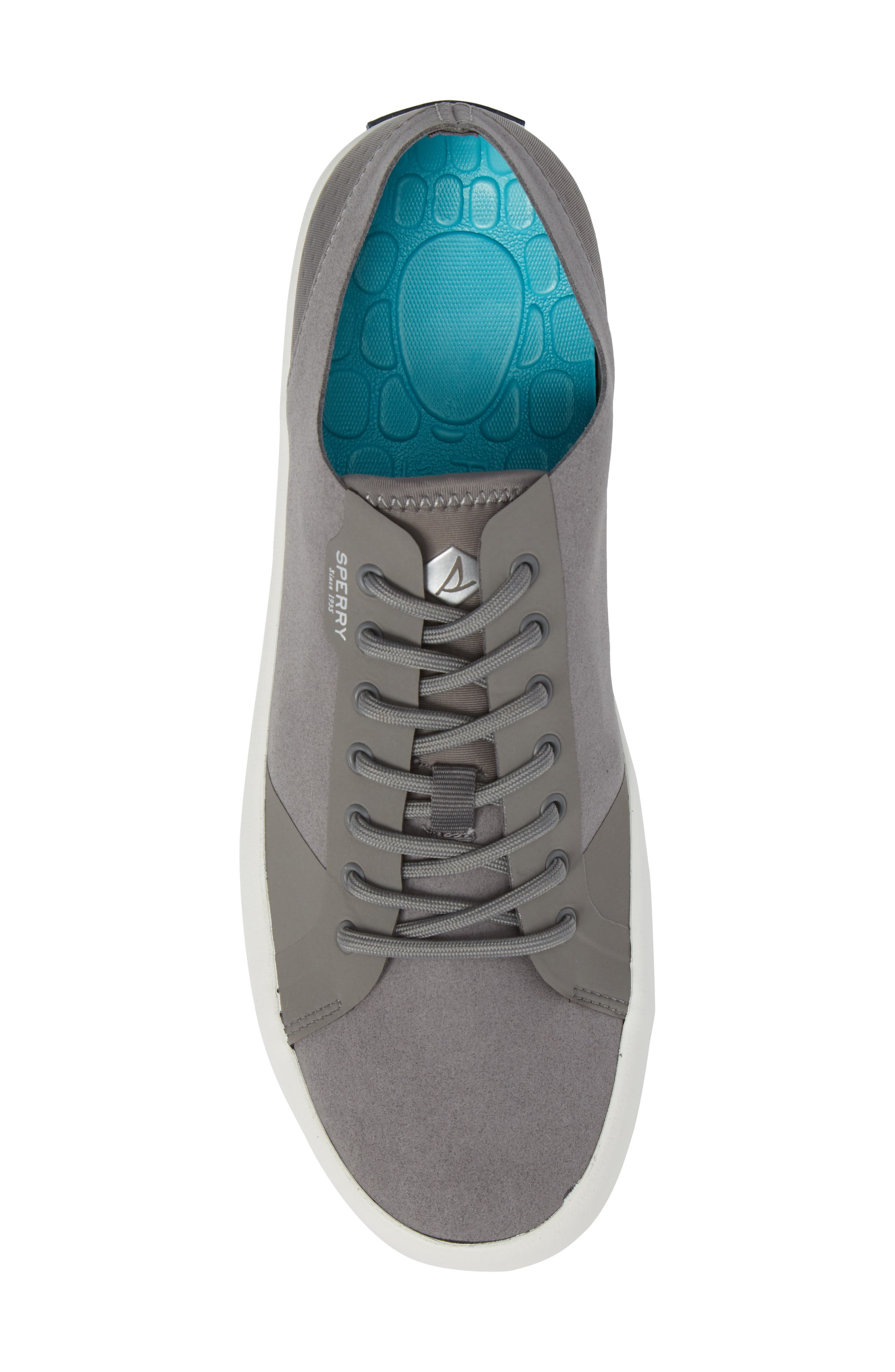 Flex Deck LTT Sneaker,                             Alternate thumbnail 5, color,                             Grey