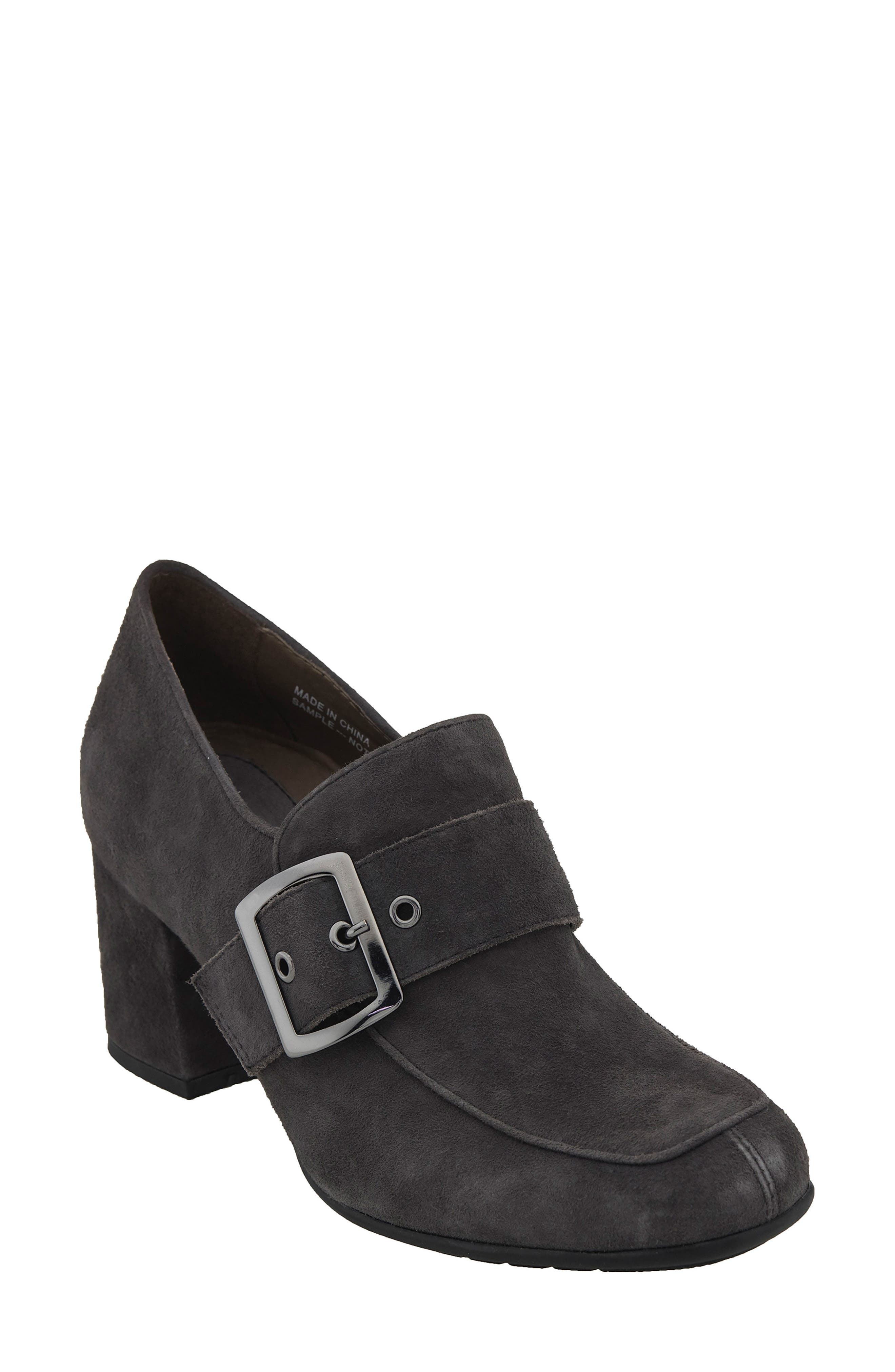 Alternate Image 1 Selected - Earthies® Rhea Buckle Strap Pump (Women)