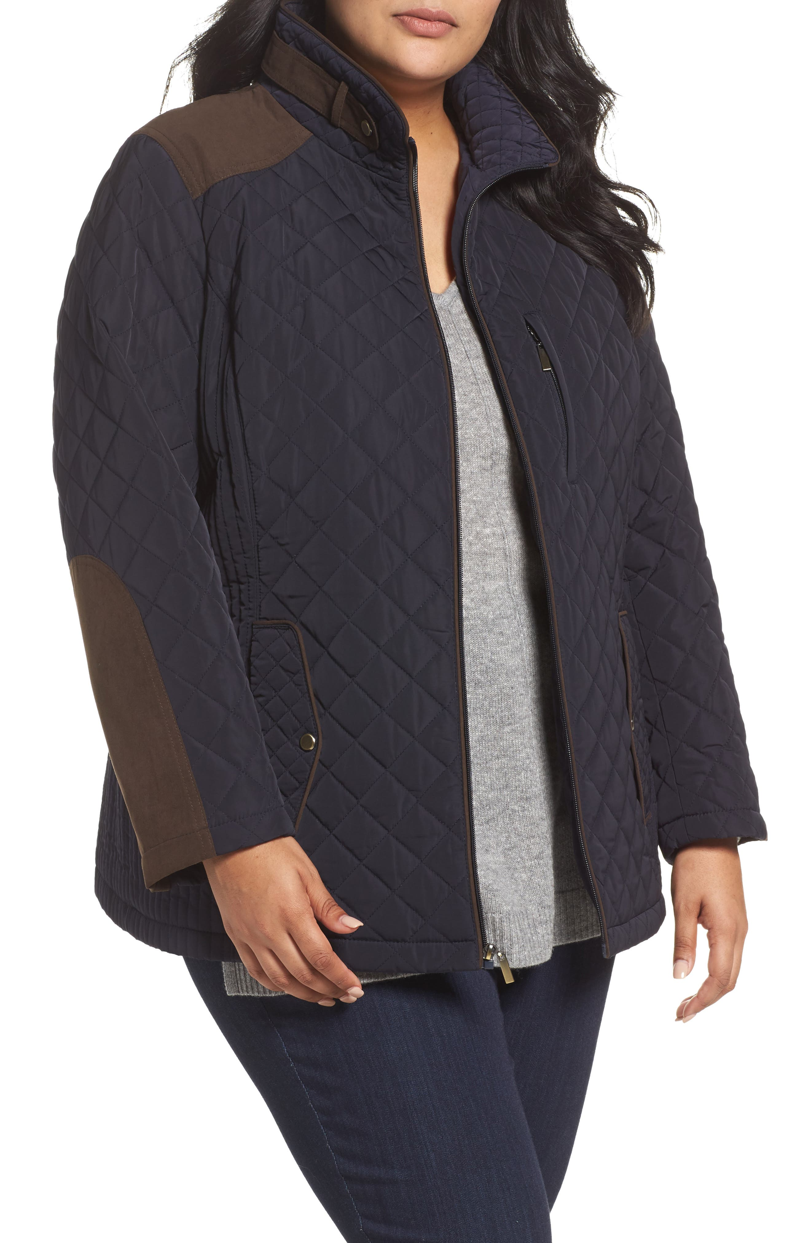 Main Image - Gallery Insulated Jacket (Plus Size)