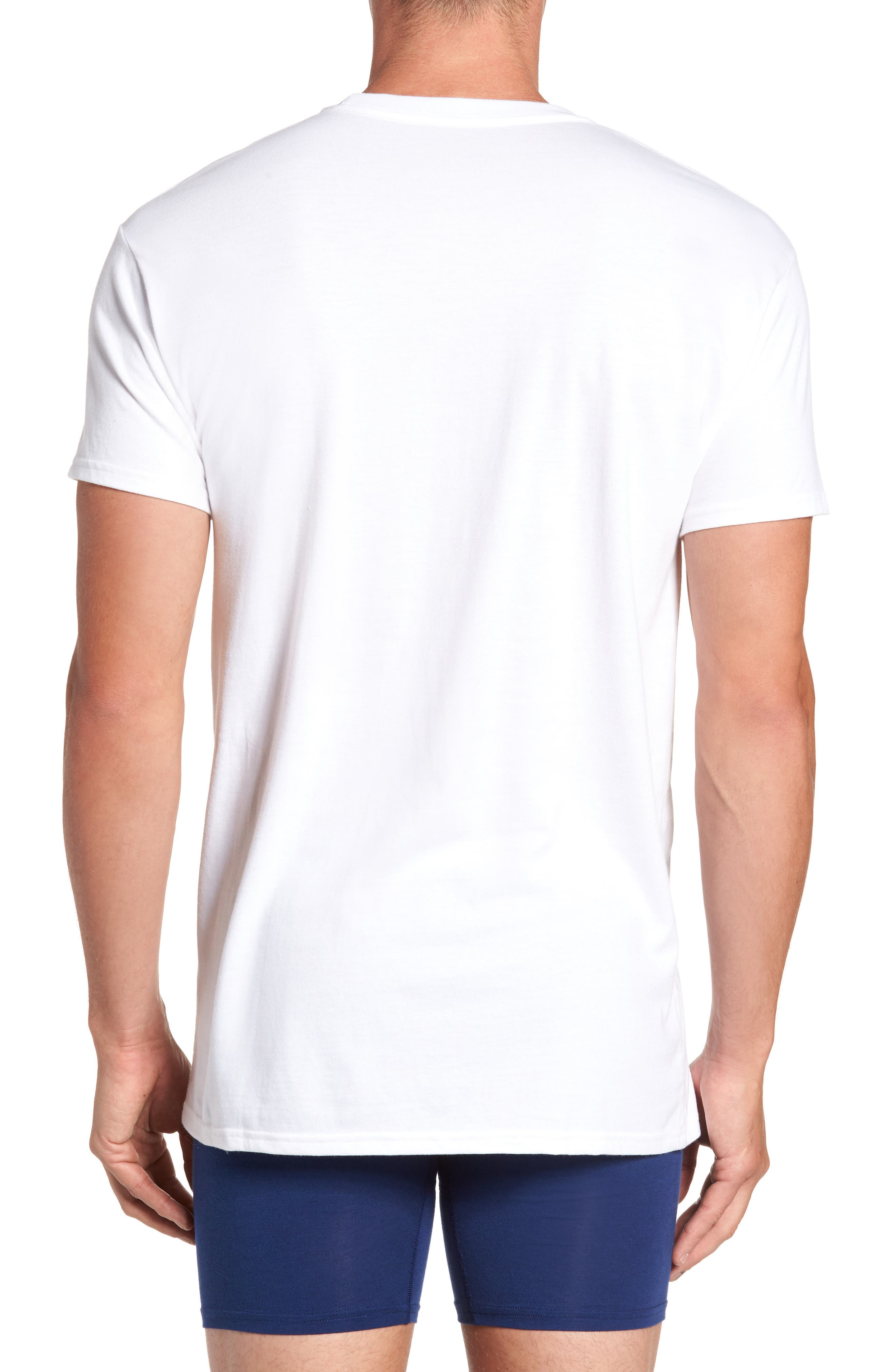 Alternate Image 3  - Hanes Luxury Essentials 3-Pack T-Shirt