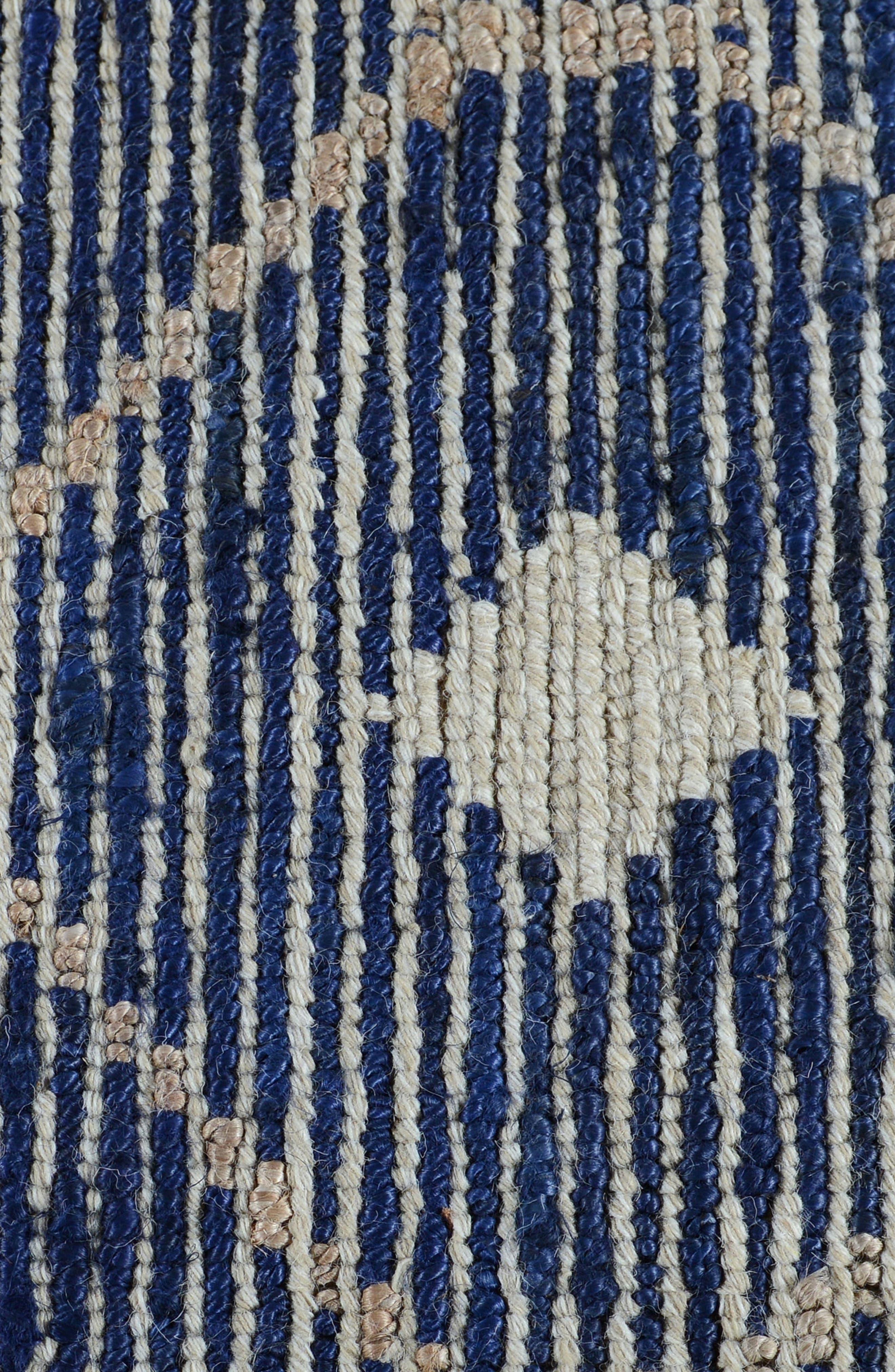 Rustica Handwoven Rug,                             Alternate thumbnail 3, color,                             Indigo