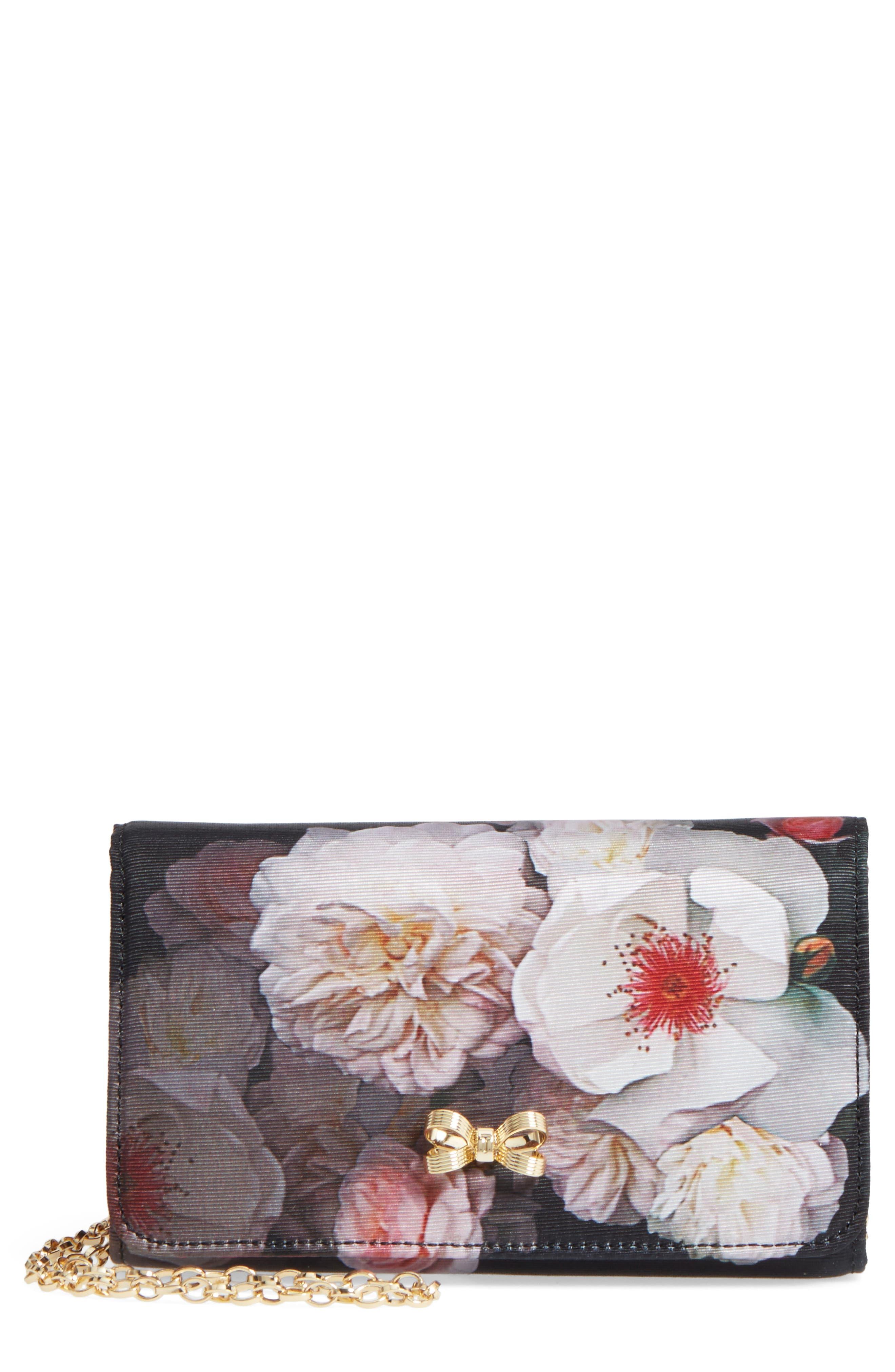 Ted Baker London Cela Floral Print Clutch
