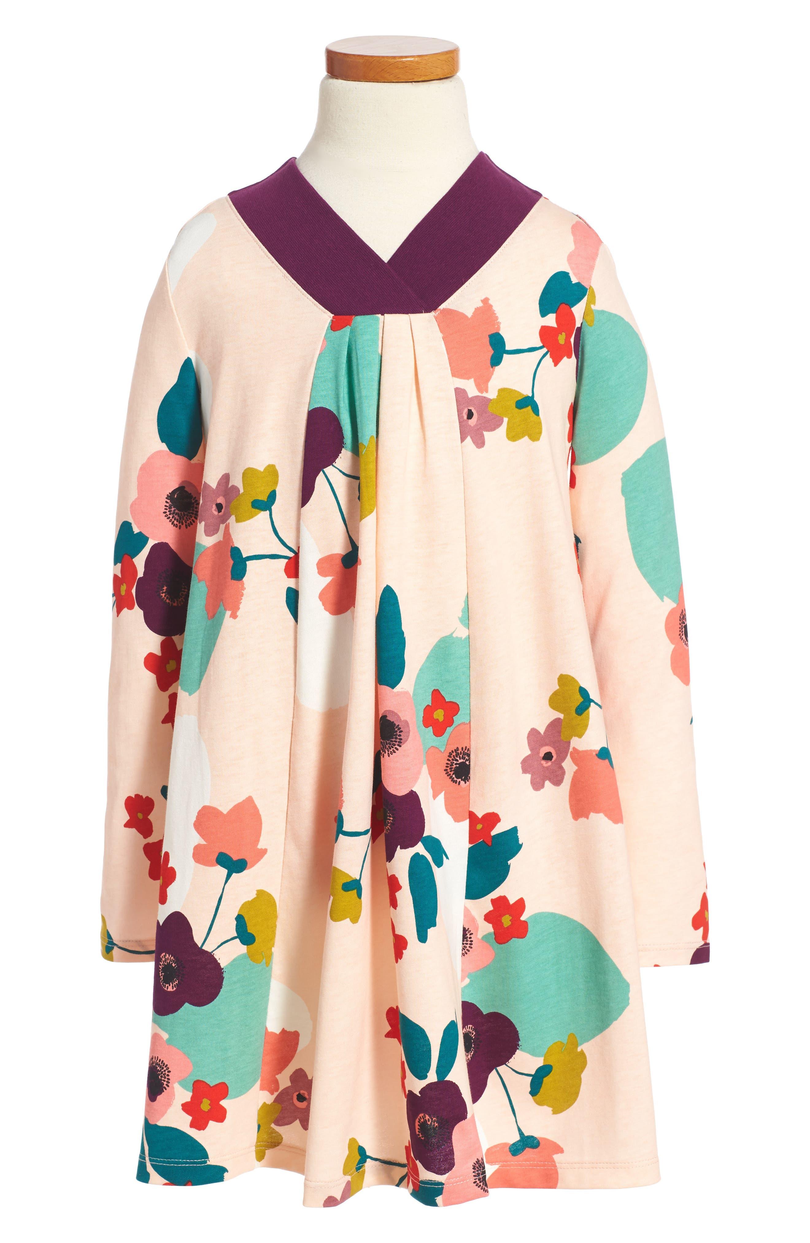 Tea Collection Claire Trapeze Dress (Toddler Girls, Little Girls & Big Girls)
