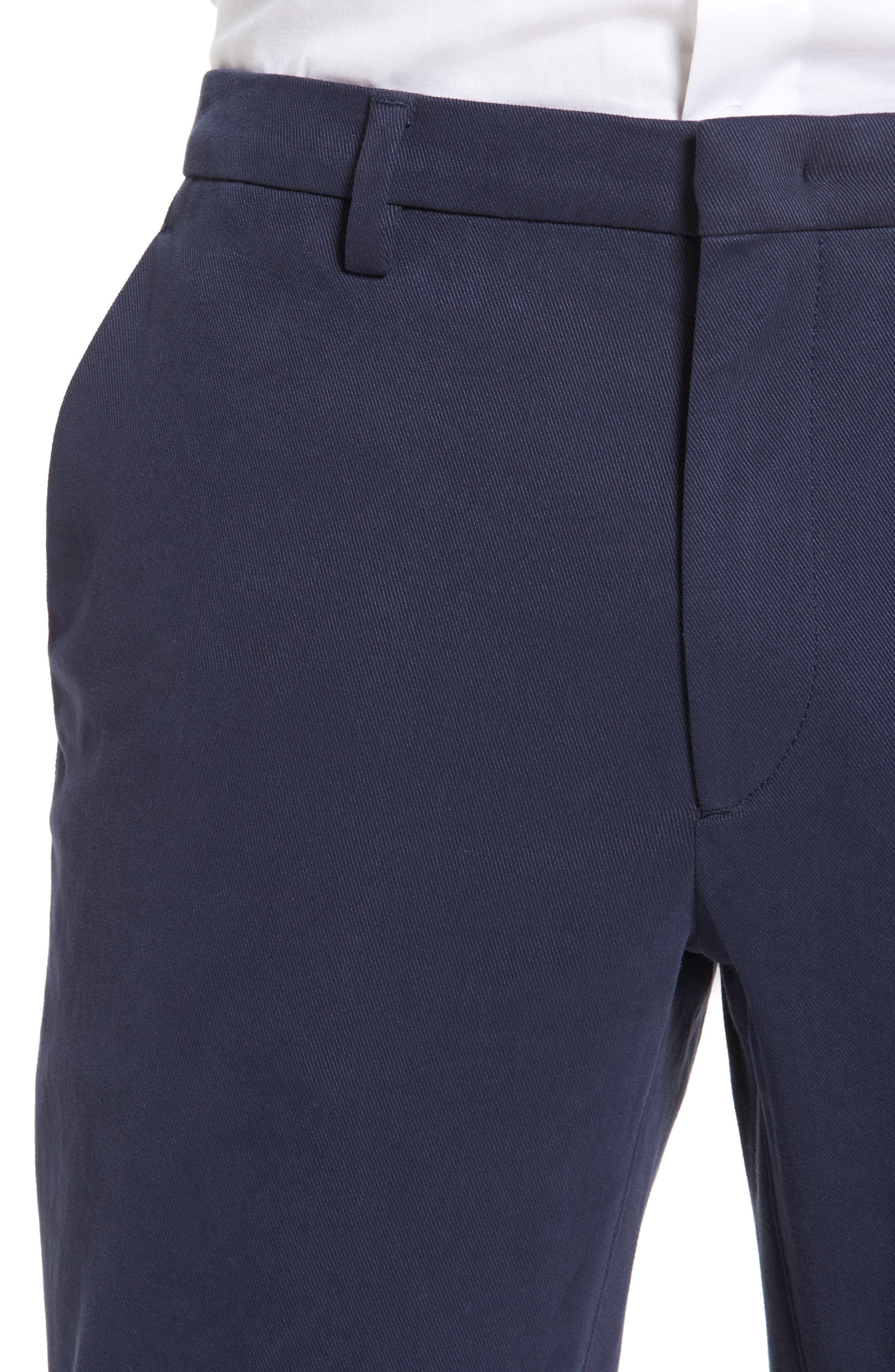 Kaito Stretch Chino Pants,                             Alternate thumbnail 3, color,                             Blue
