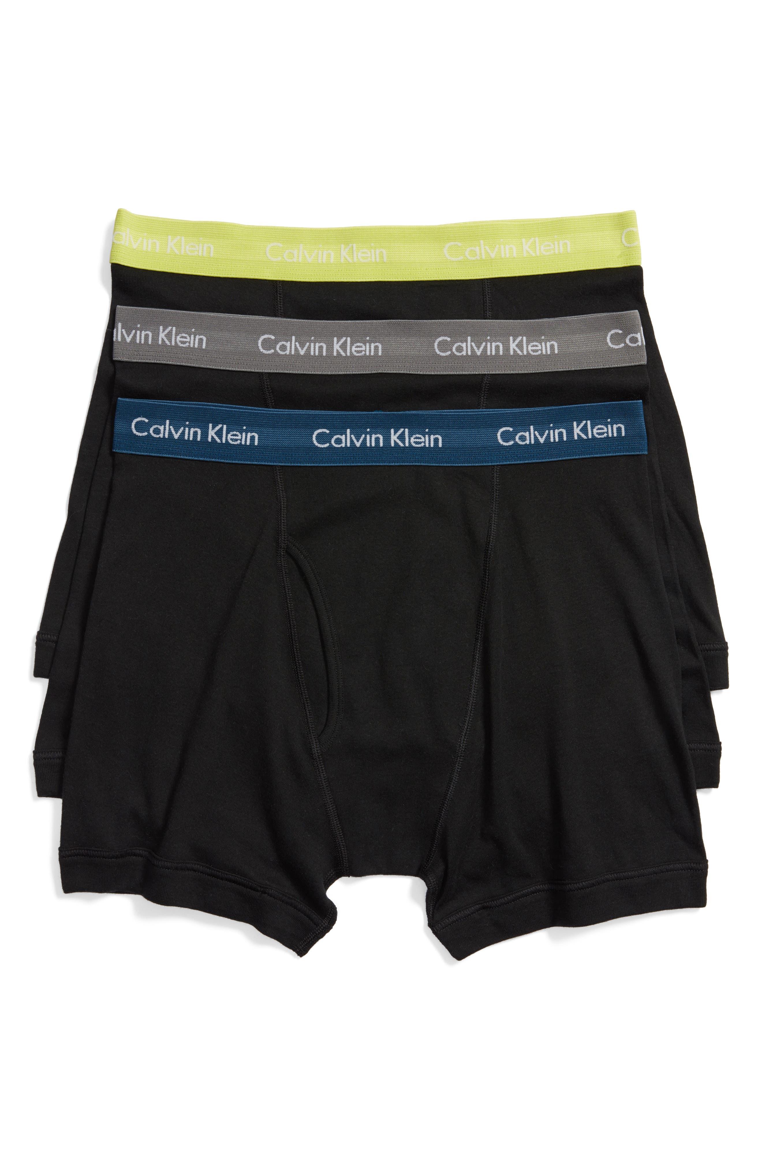 Main Image - Calvin Klein 3-Pack Boxer Briefs