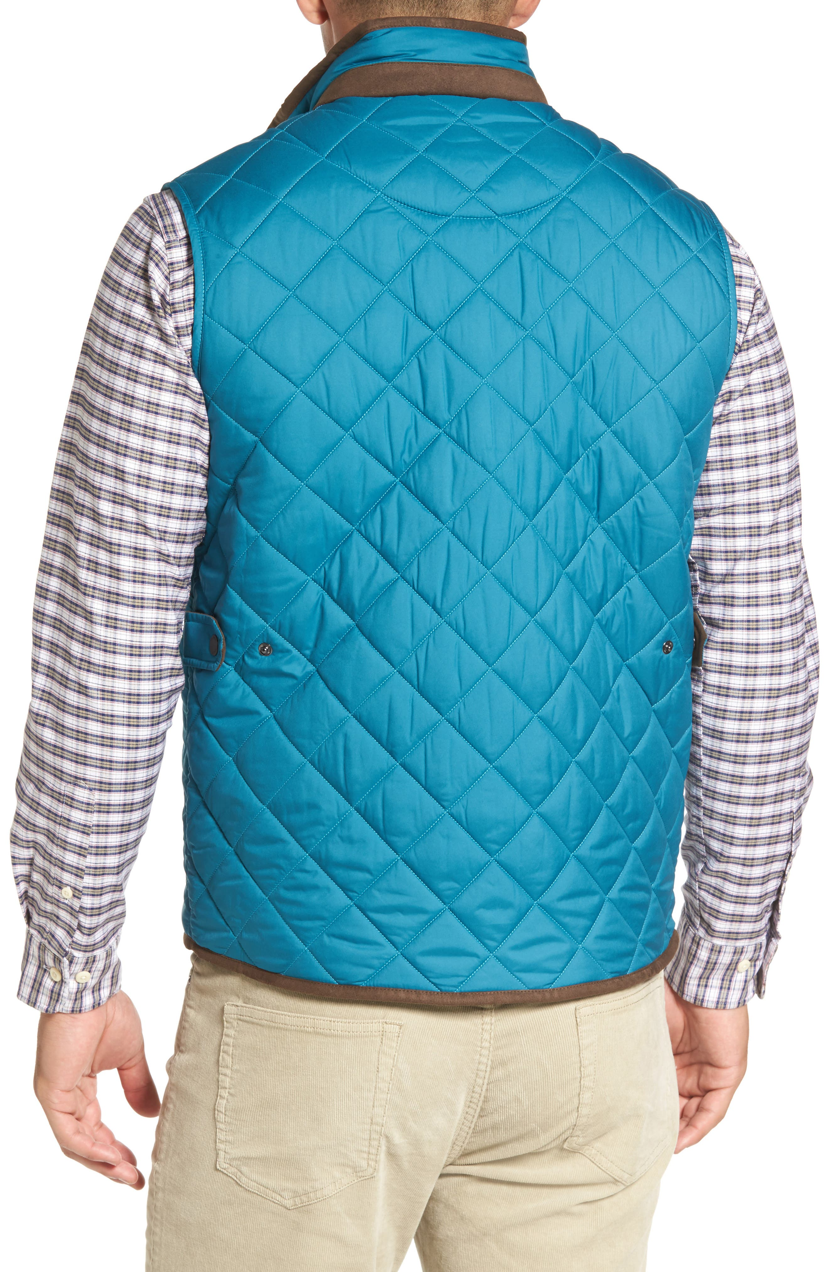 Alternate Image 2  - Peter Millar Essex Quilted Vest