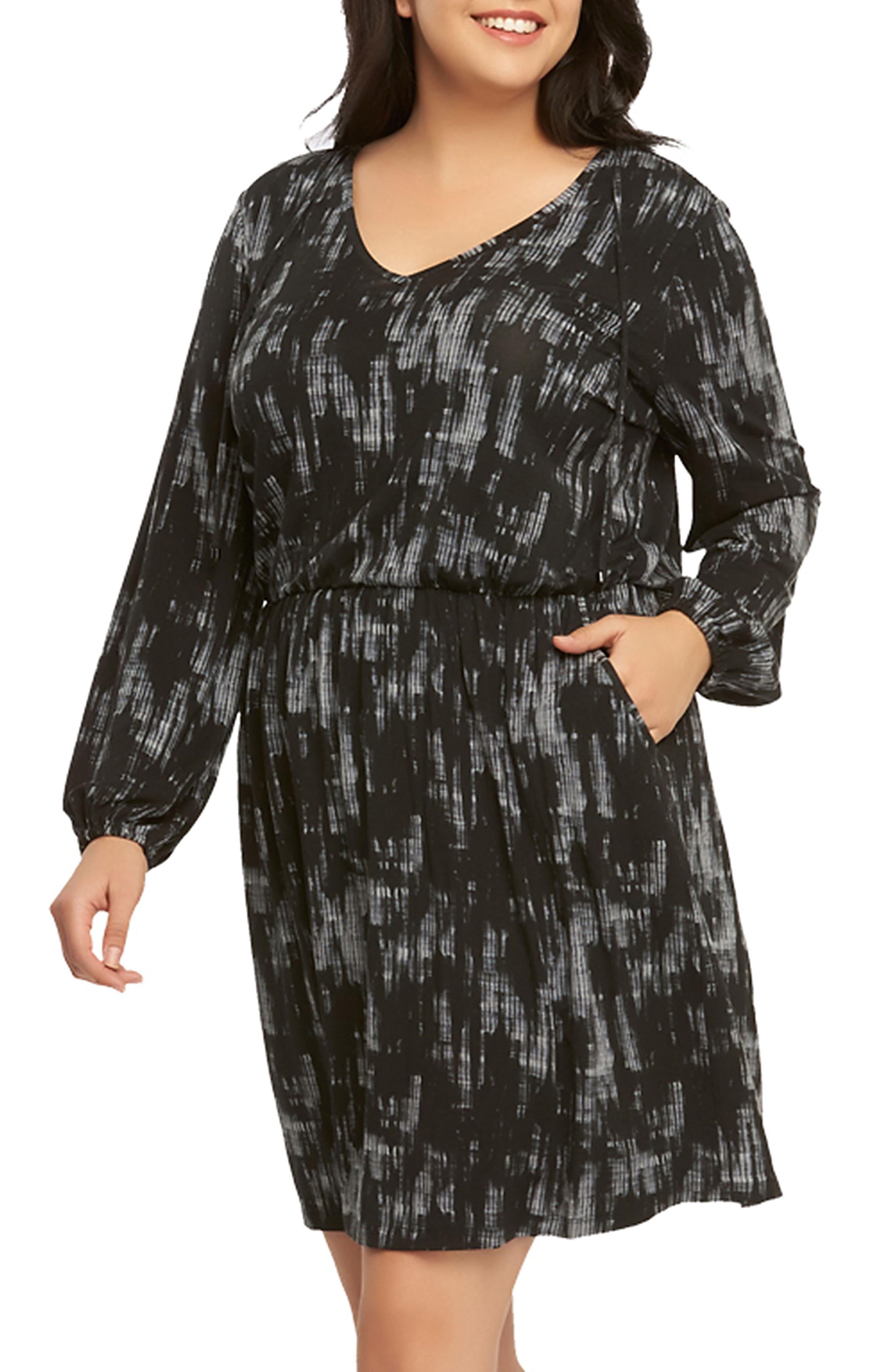 Alternate Image 3  - Tart 'Robby' Print Jersey V-Neck Dress (Plus Size)