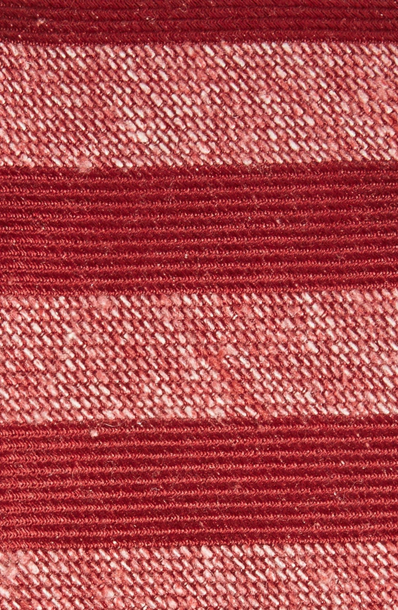Alternate Image 2  - The Tie Bar Meter Stripe Nep Silk Tie
