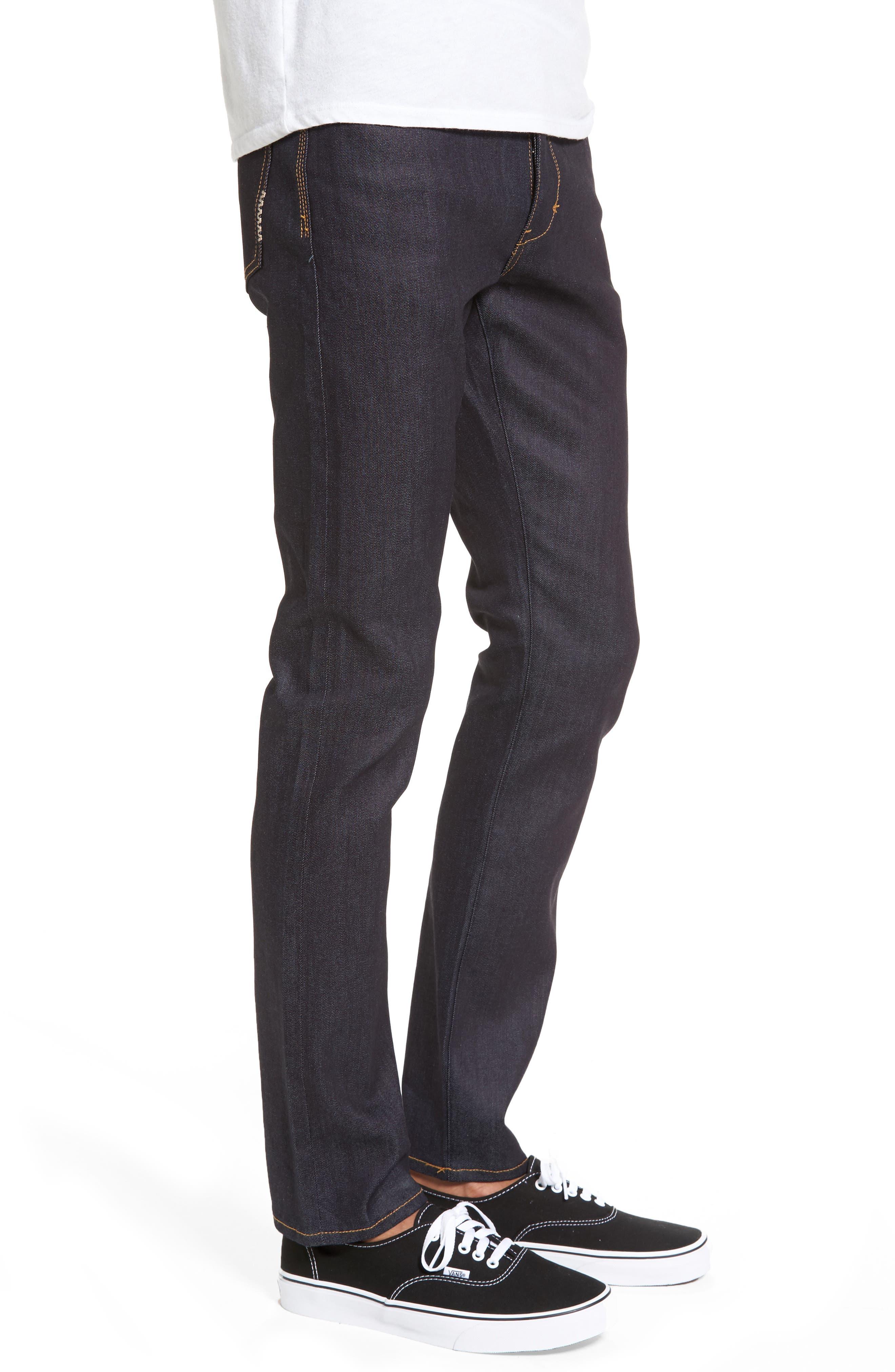 Alternate Image 3  - Neuw Iggy Skinny Jeans (Raw Stretch)