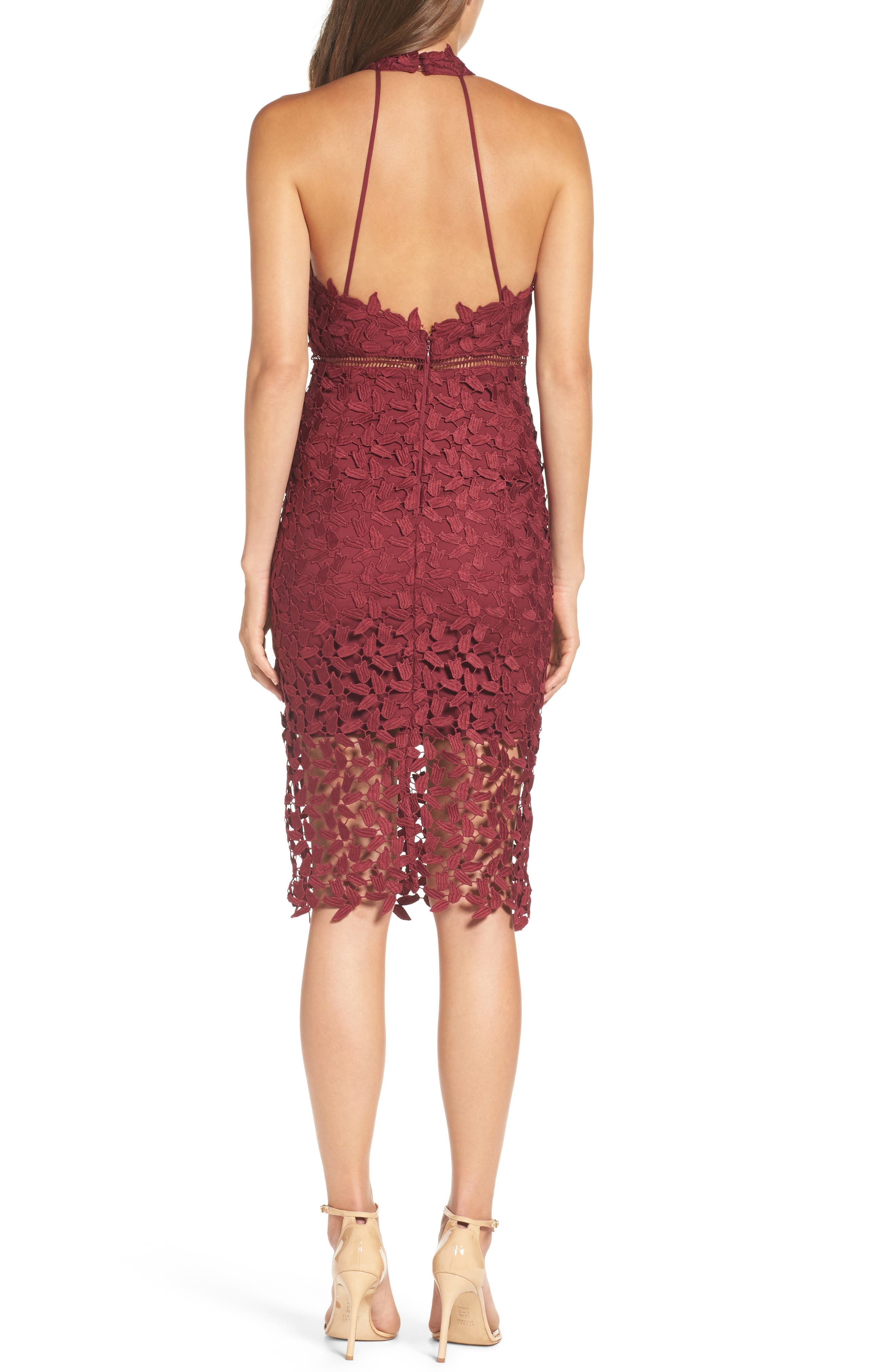 Red Cocktail & Party Dresses: Sequin, Lace, Mesh & More ...