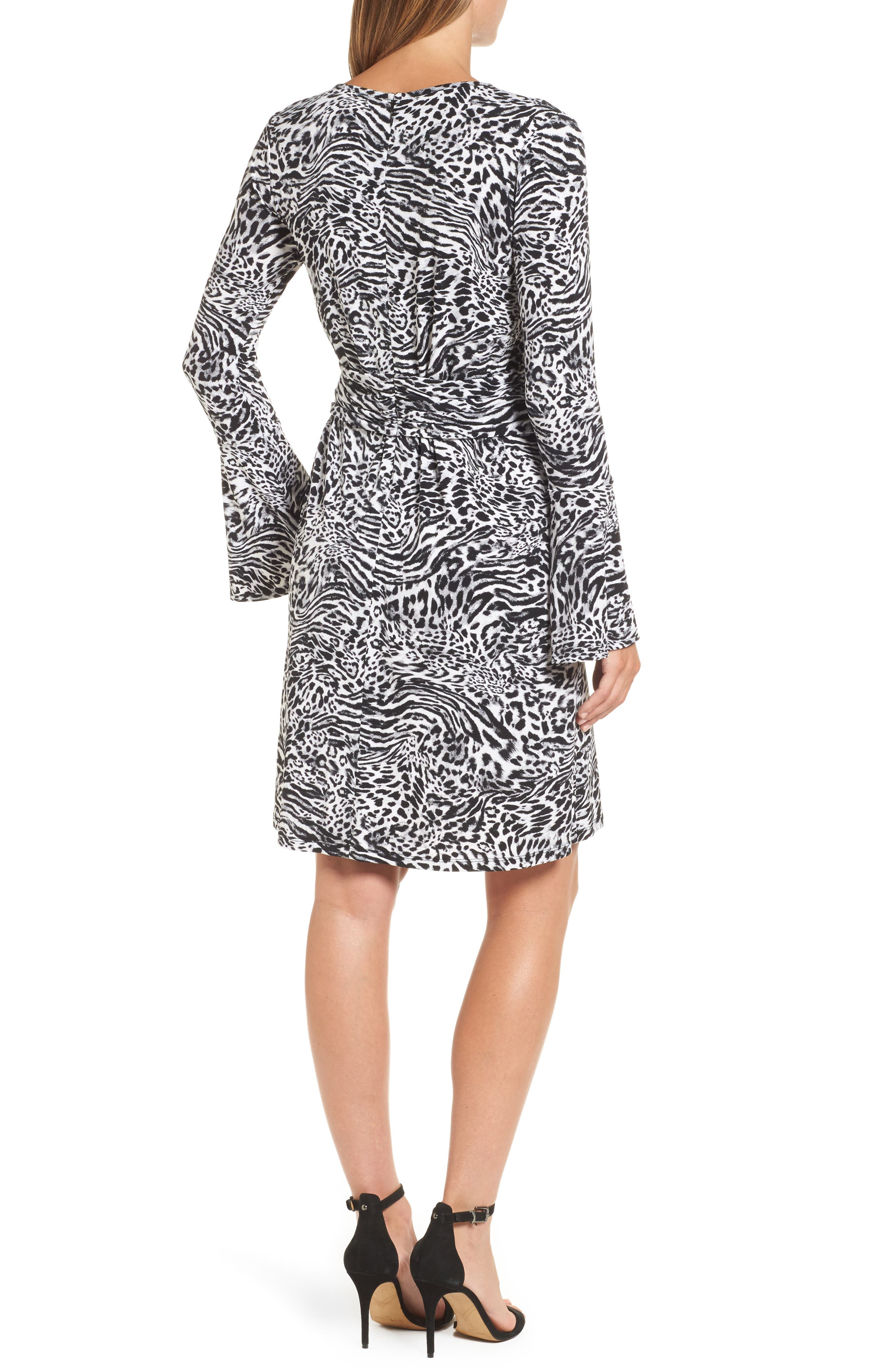 Alternate Image 2  - MICHAEL Michael Kors Big Cat A-Line Dress