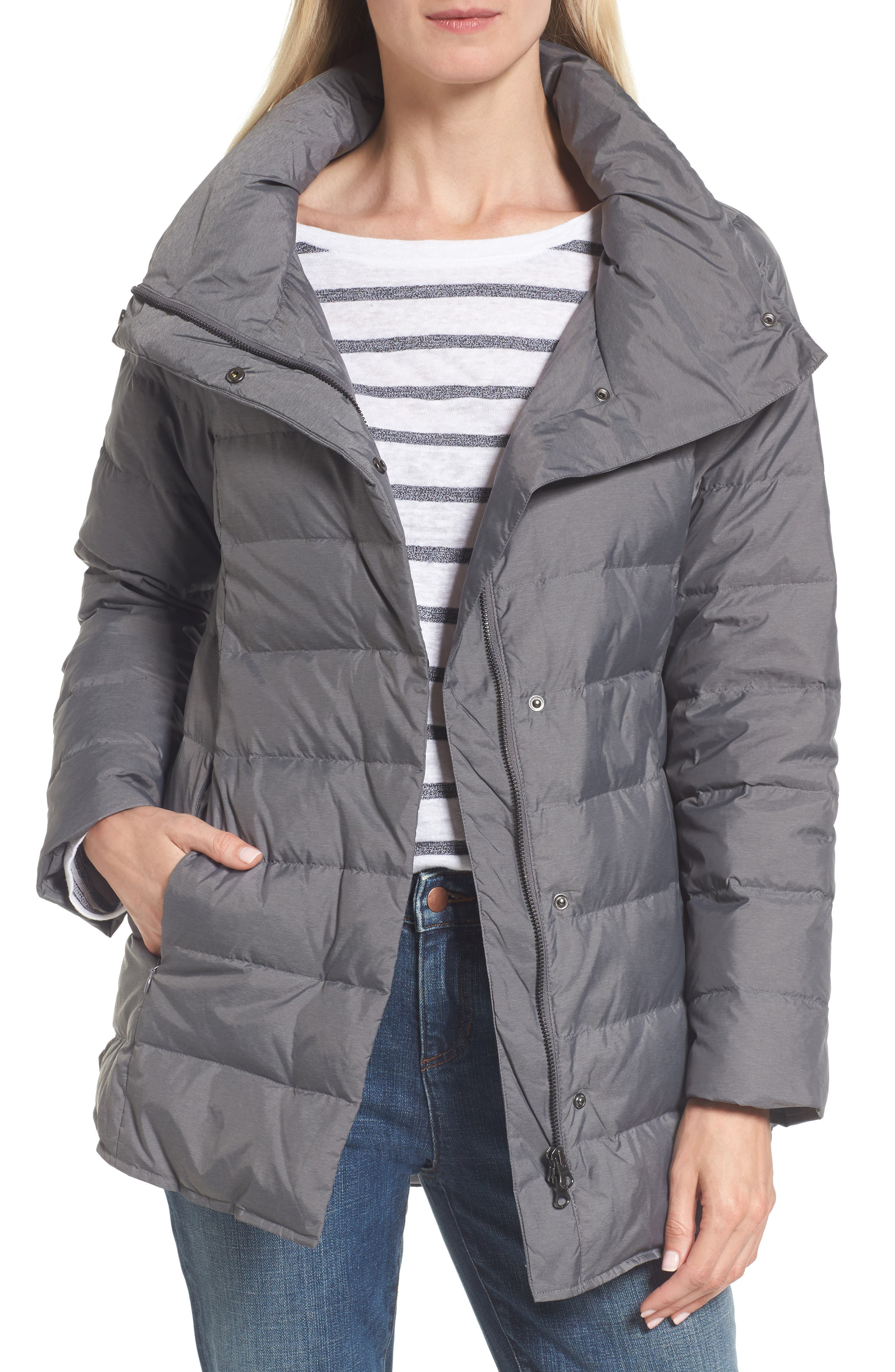Alternate Image 1 Selected - Eileen Fisher Down Jacket
