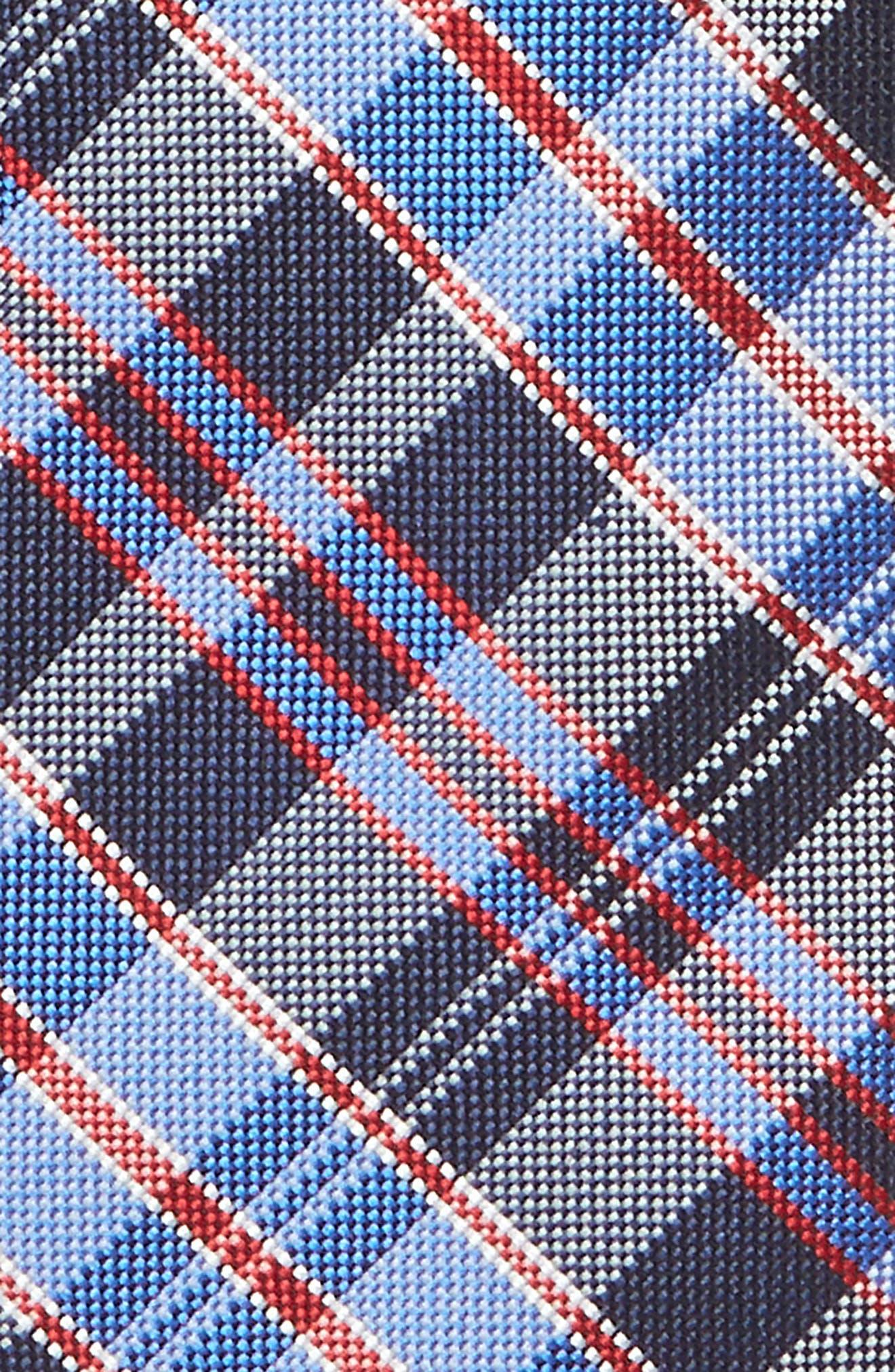 Alternate Image 2  - Nordstrom Check Silk Tie (Big Boys)