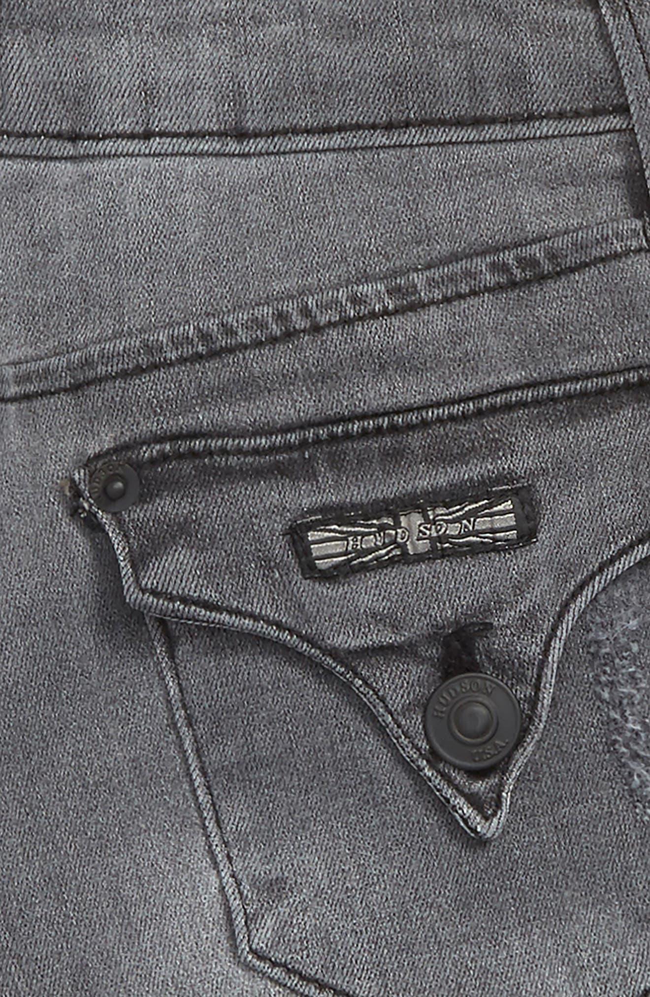 Alternate Image 3  - Hudson Kids Roll Cuff Denim Shorts (Big Girls)