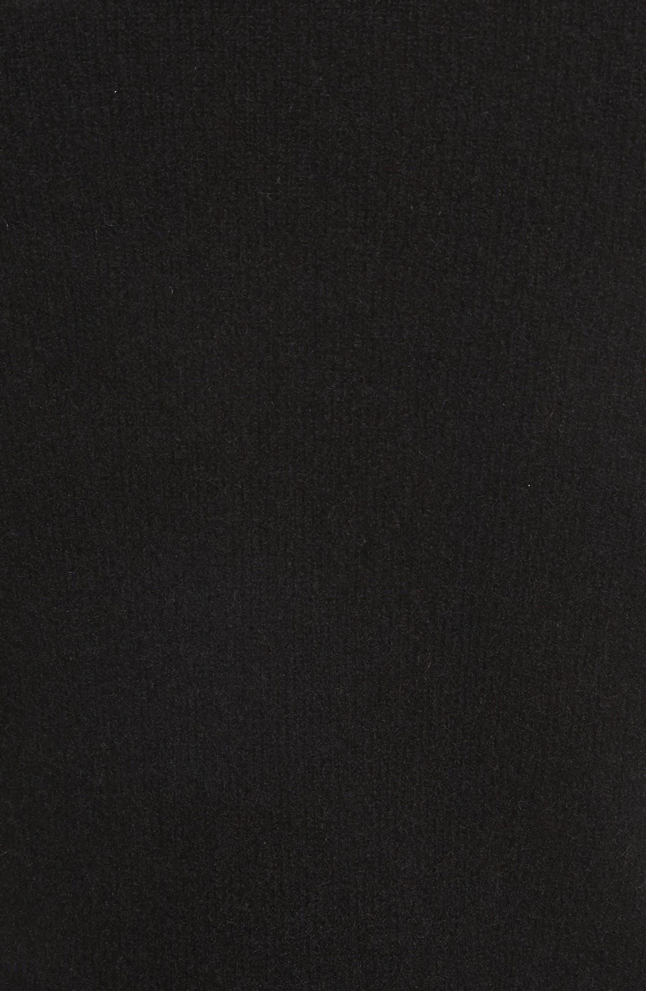 Alternate Image 5  - FRAME Turtleneck Cashmere Sweater Dress