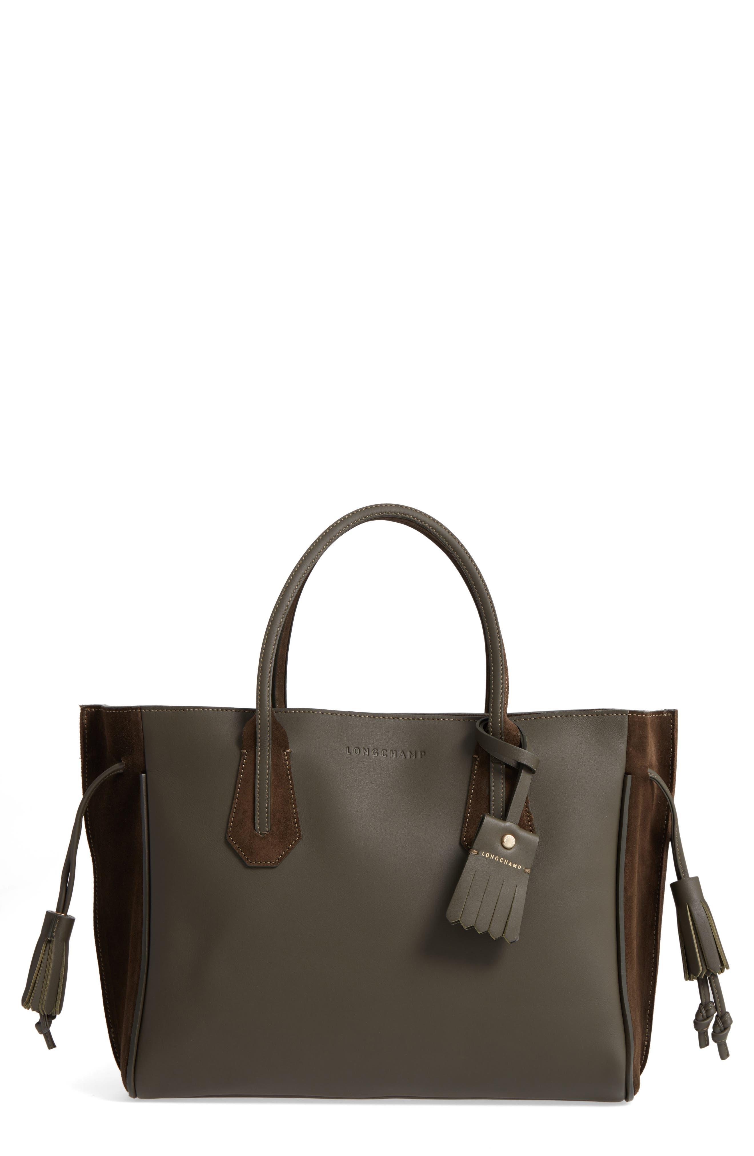 Alternate Image 1 Selected - Longchamp Penelope Top Handle Tote