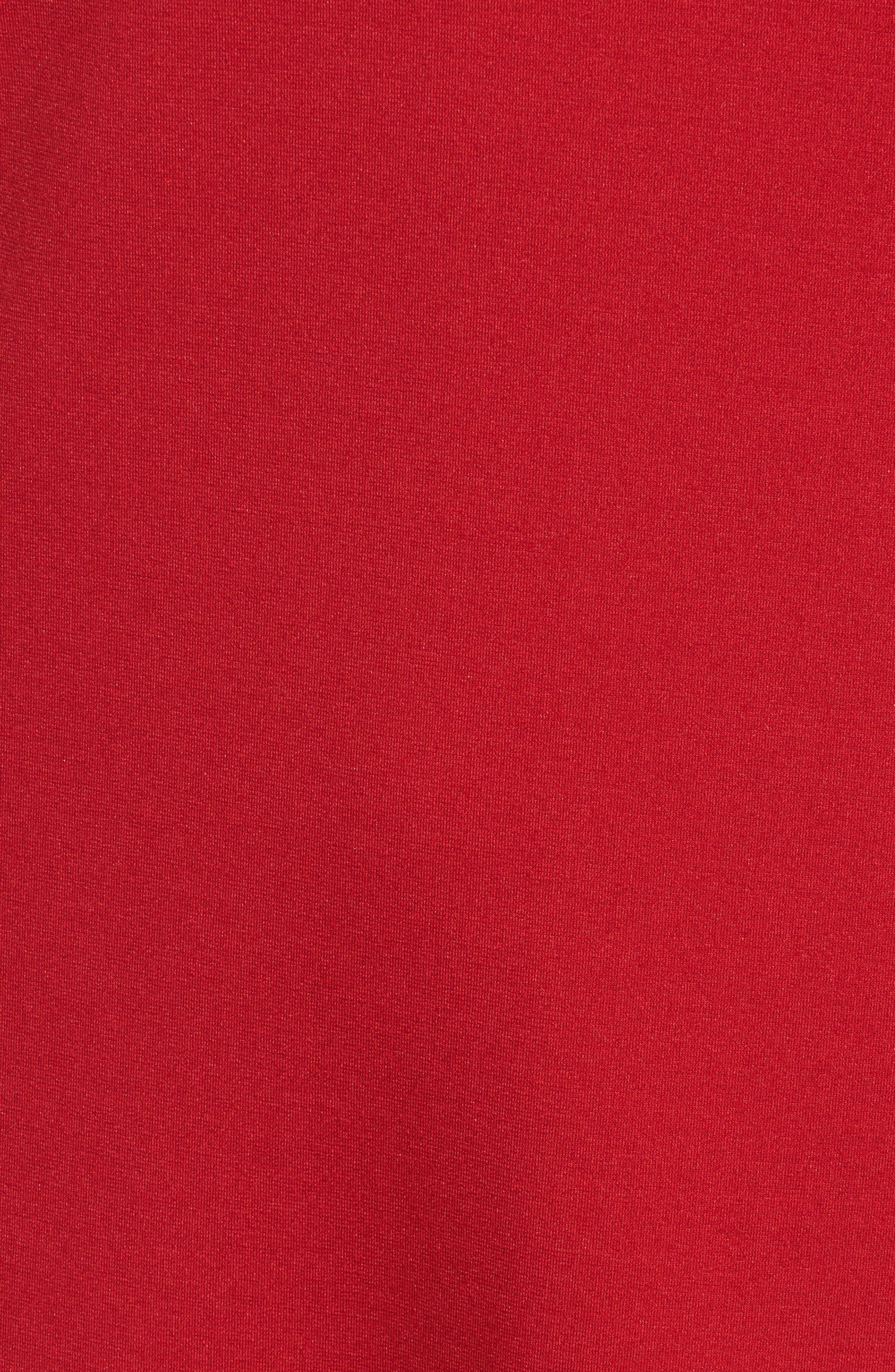 Alternate Image 5  - Halogen Ruffle Shift Dress (Regular & Petite)