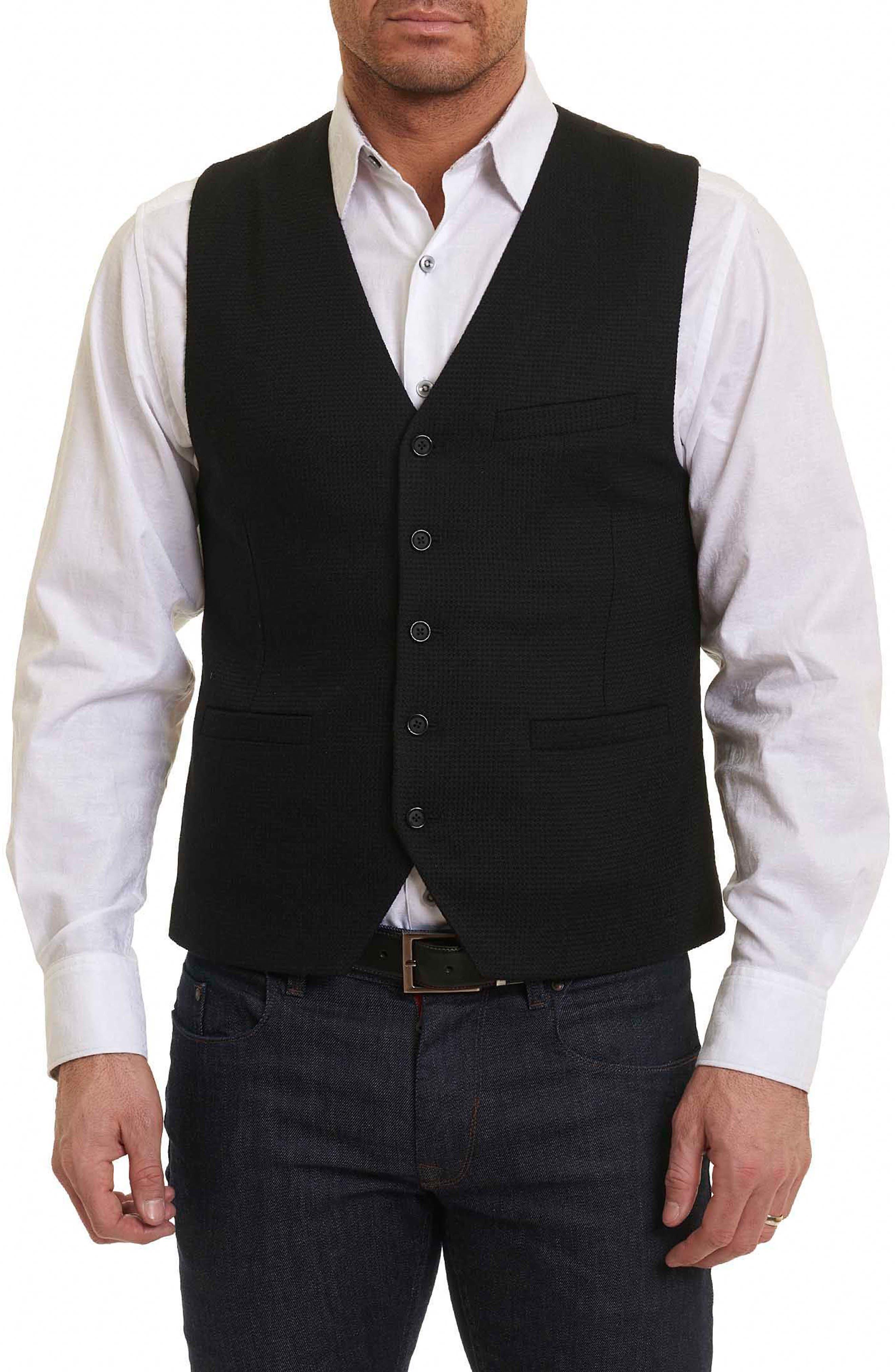 Robert Graham Five Ponds Wool Vest