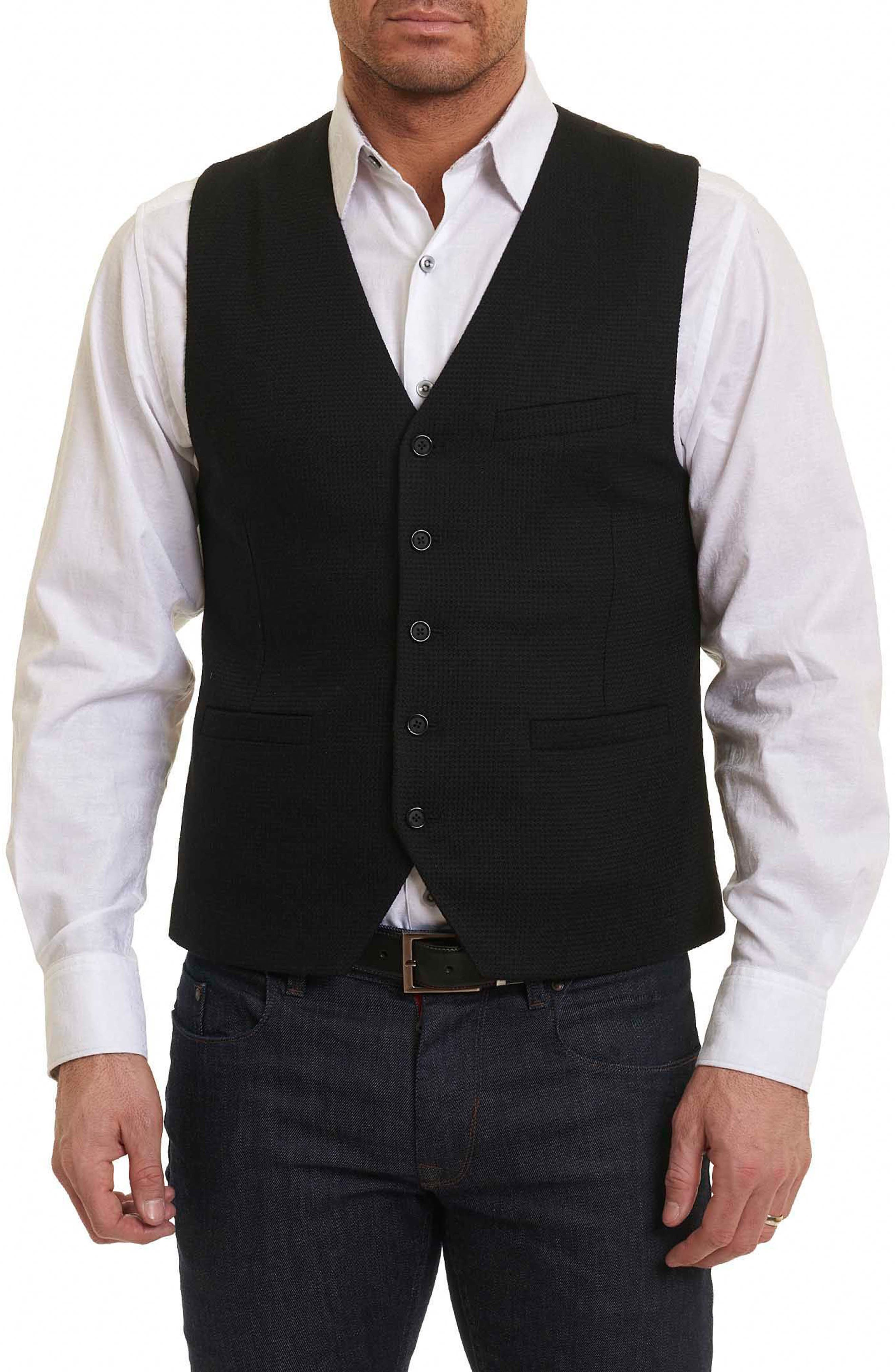 Robert Graham Five Ponds Wool Vest